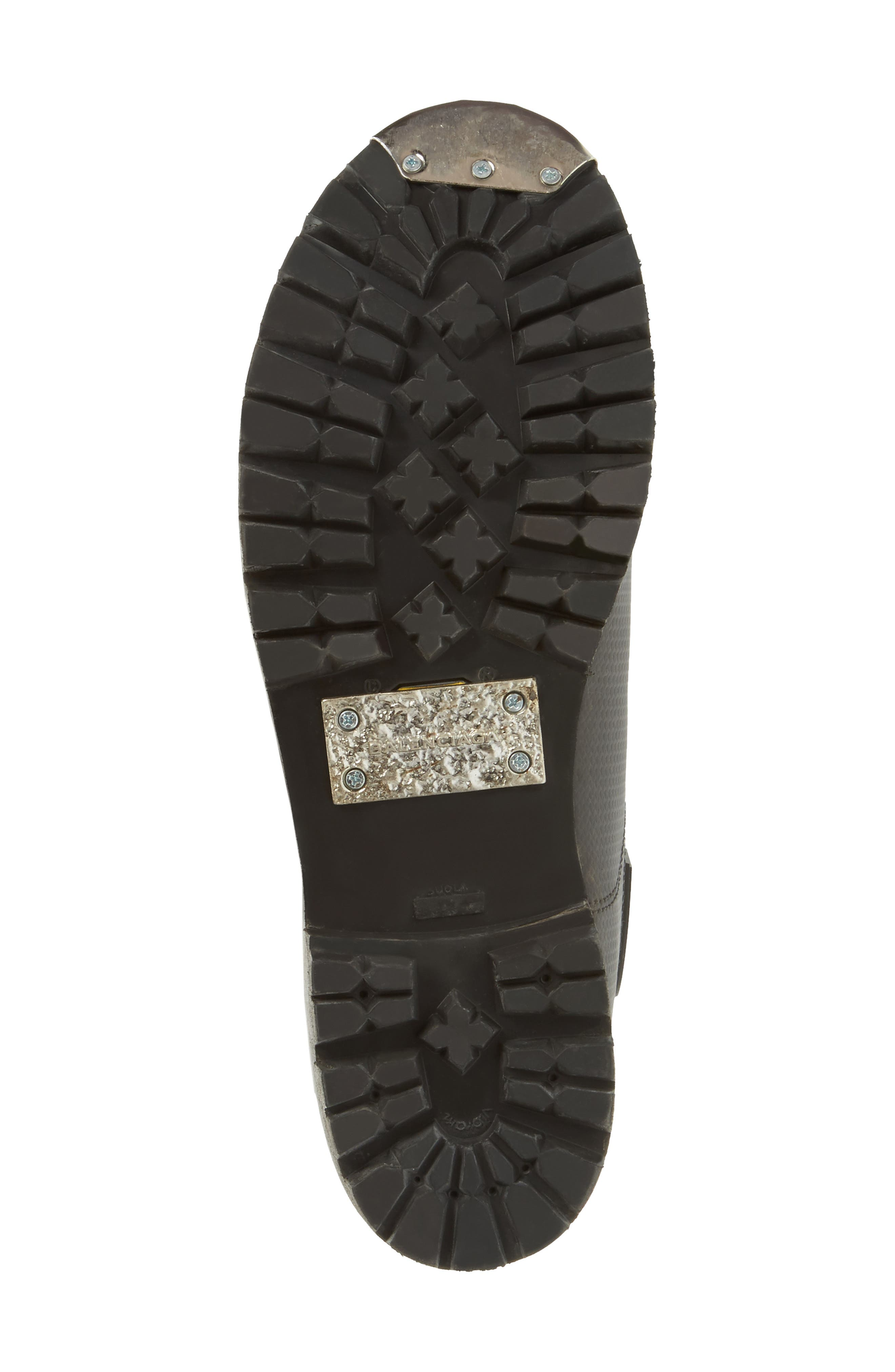 Alternate Image 6  - Balenciaga Moto Strapped Boot (Men)