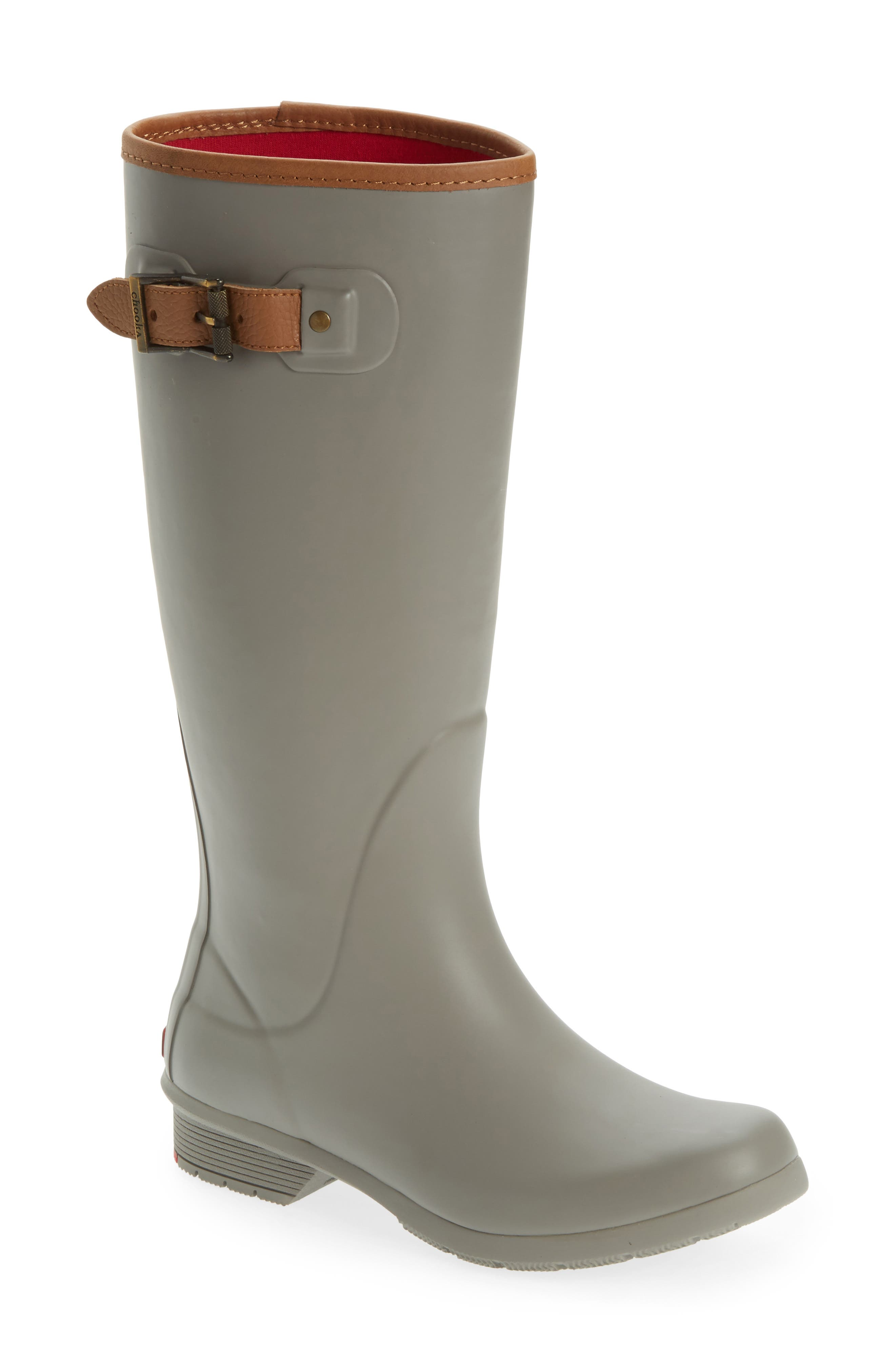 City Tall Rain Boot,                             Main thumbnail 1, color,                             Stone