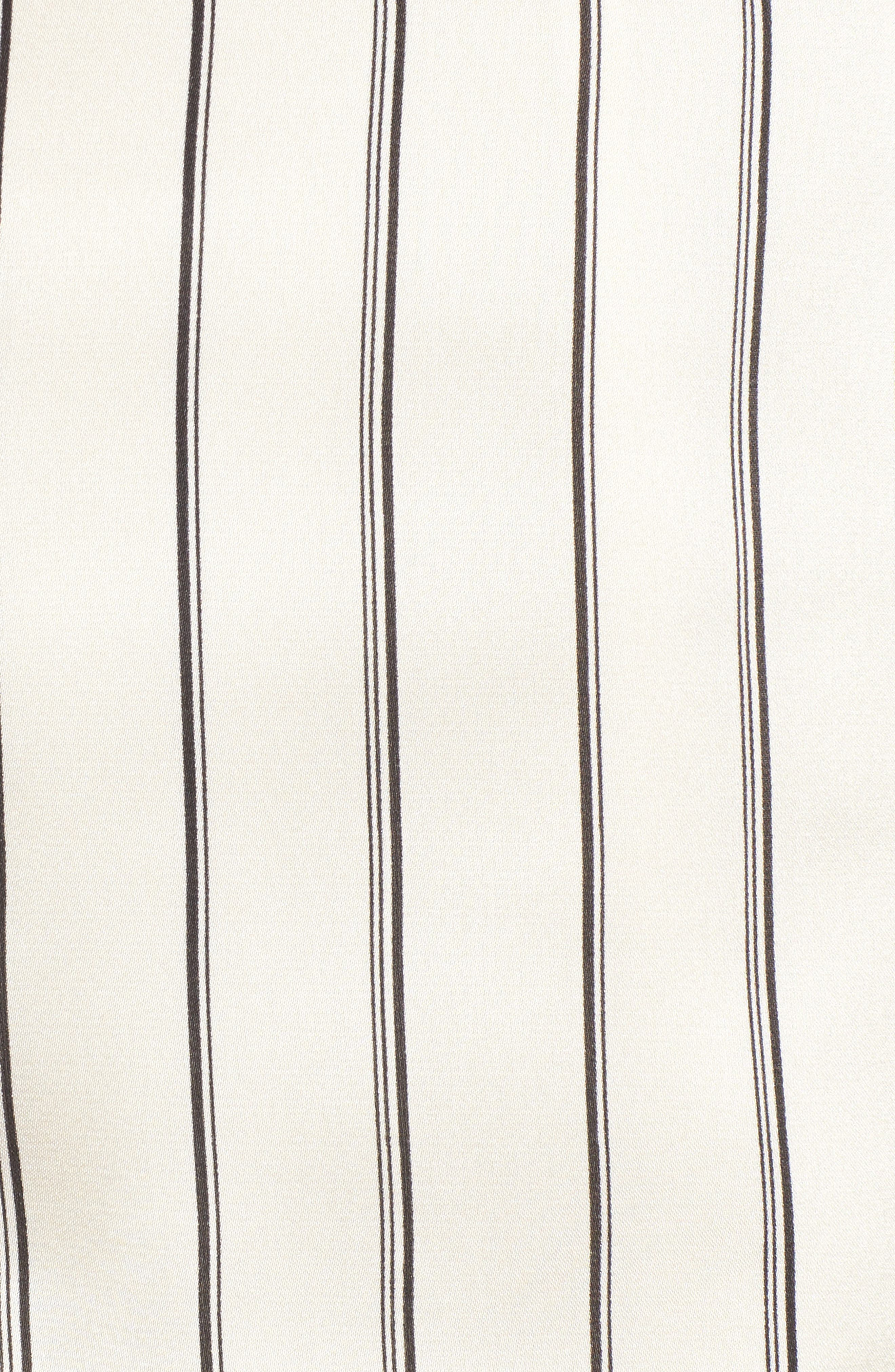 Alternate Image 5  - J.O.A. Ruffle Pinstripe Skirt