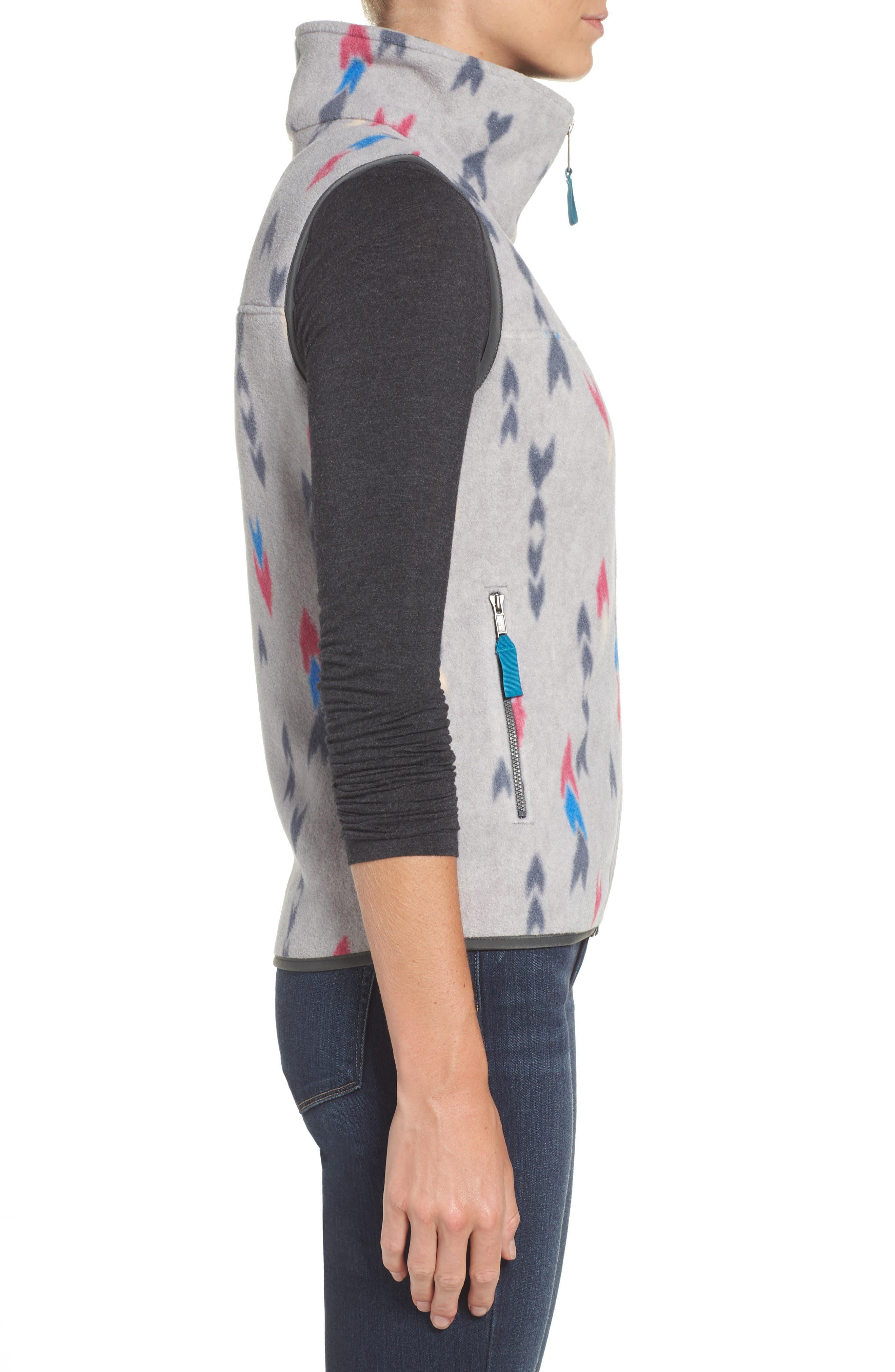 Snap-T<sup>®</sup> Fleece Vest,                             Alternate thumbnail 3, color,                             Wish Tails Big/ Craft Pink