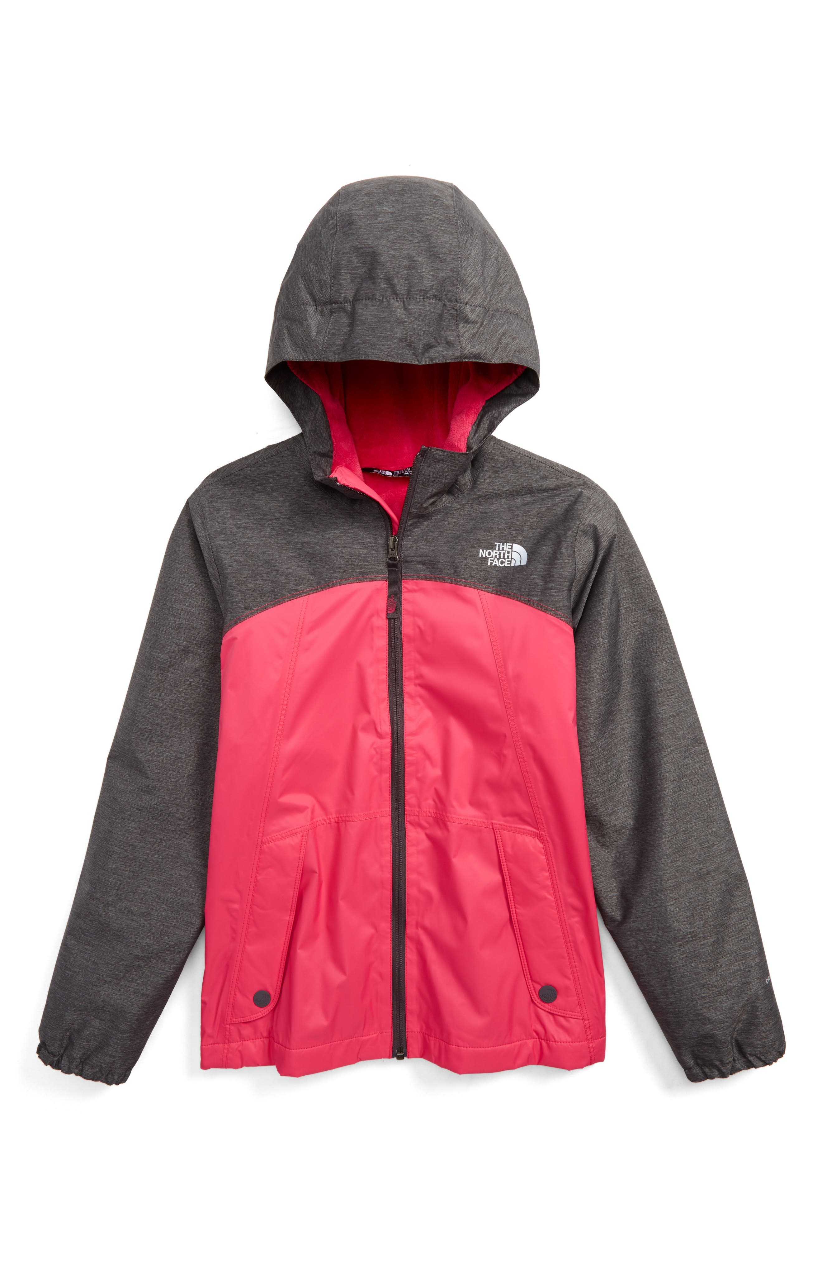 The North Face Warm Storm Hooded Waterproof Jacket (Little Girls & Big Girls)