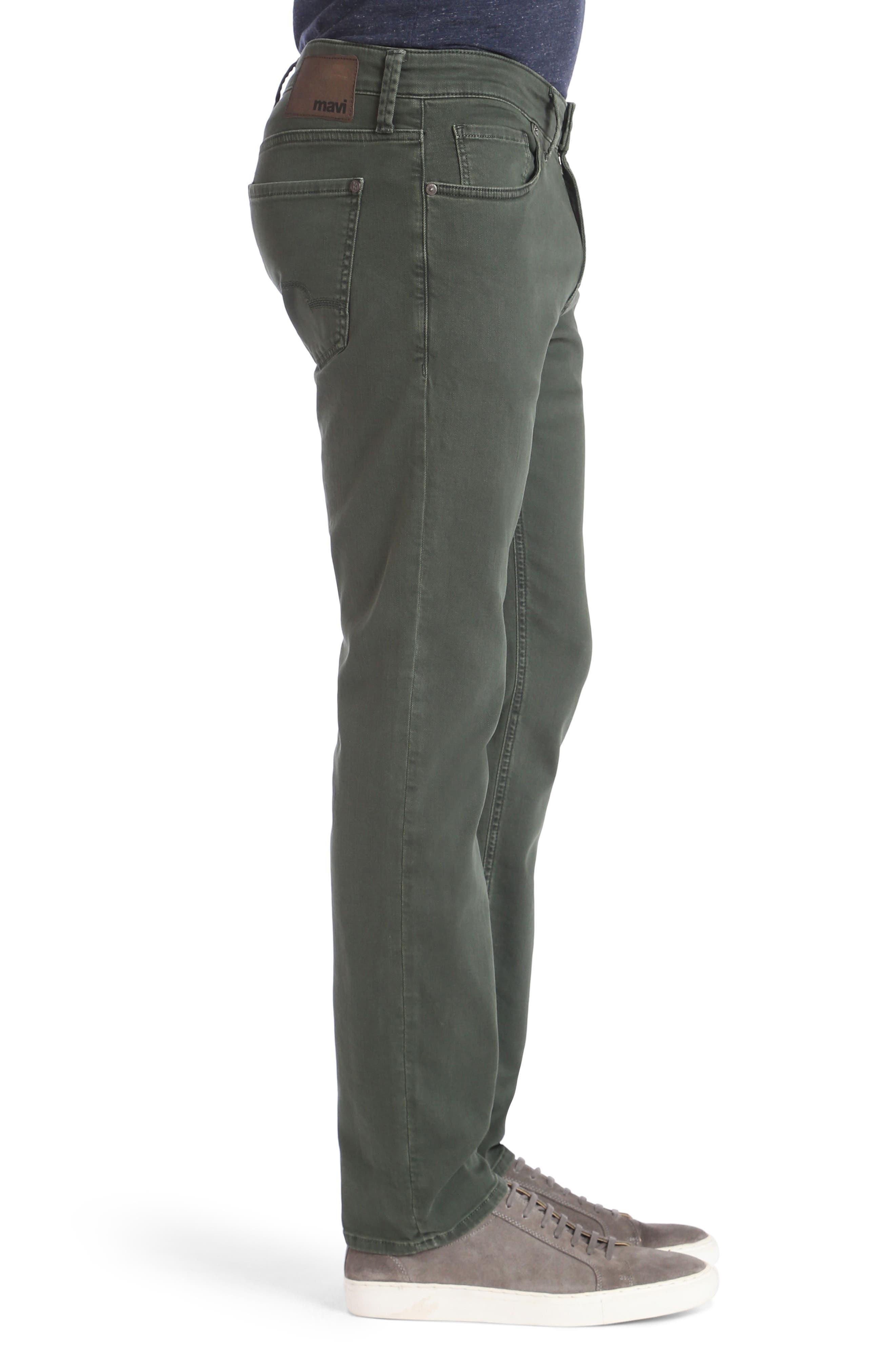 Mavi Jake Slim Fit Jeans,                             Alternate thumbnail 3, color,                             Urban Chic