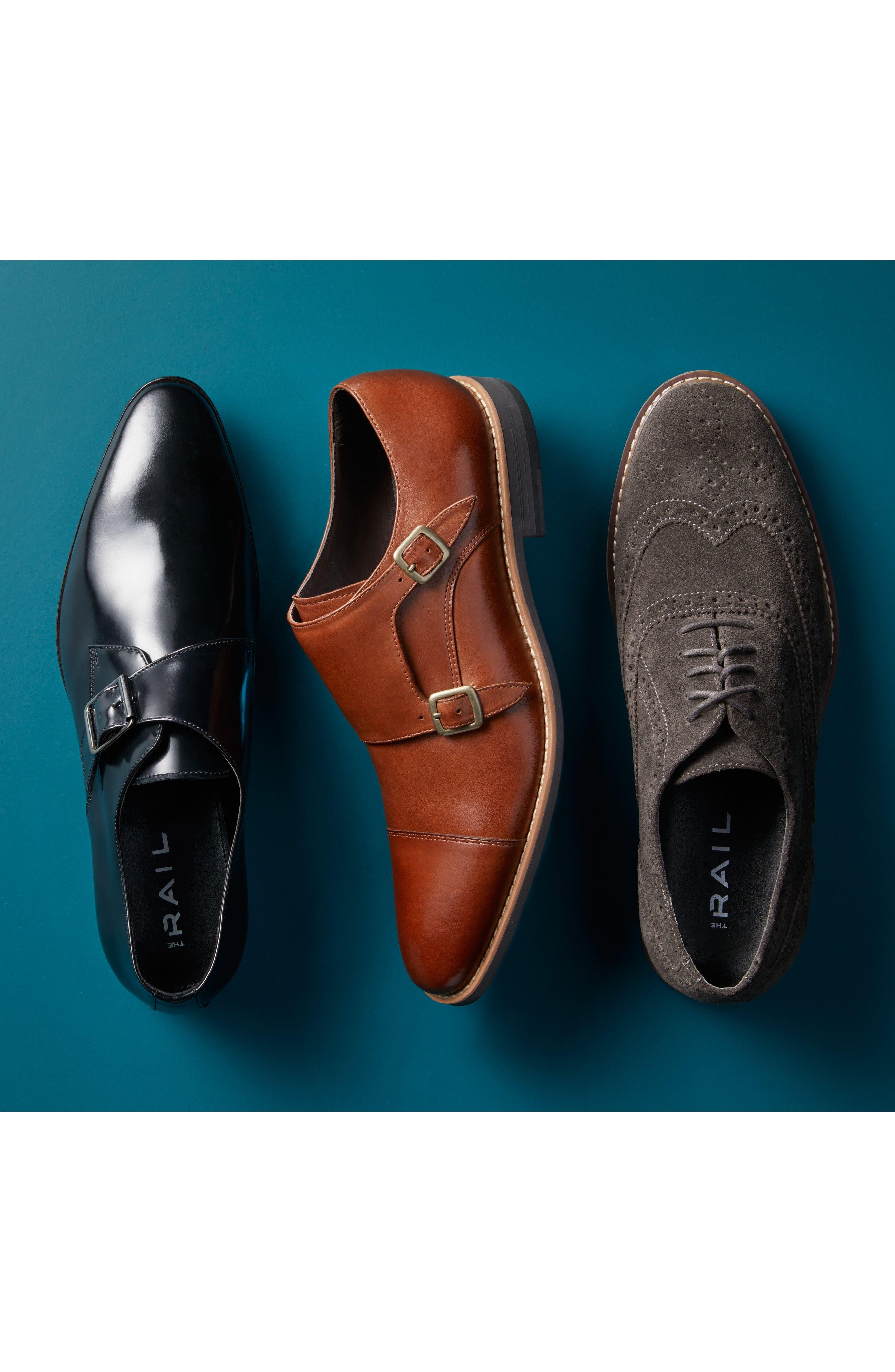 Alternate Image 7  - The Rail Webster Single Strap Monk Shoe (Men)