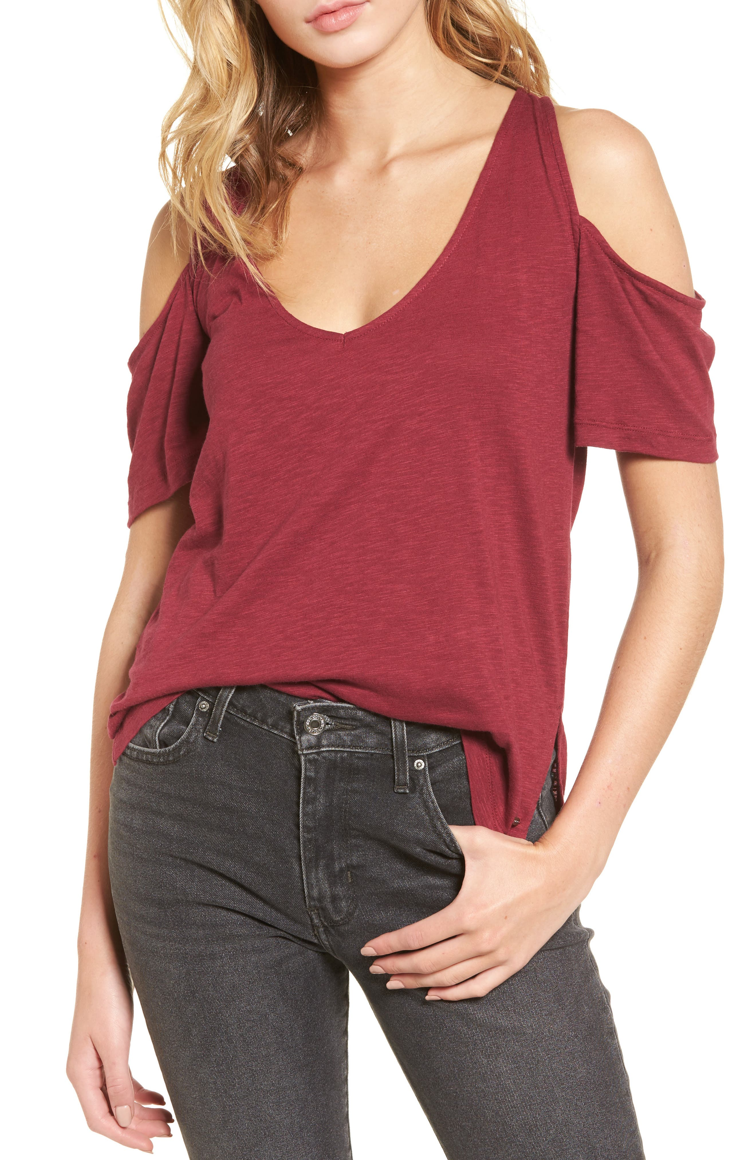 O'Neill Katrina Cold Shoulder Tee