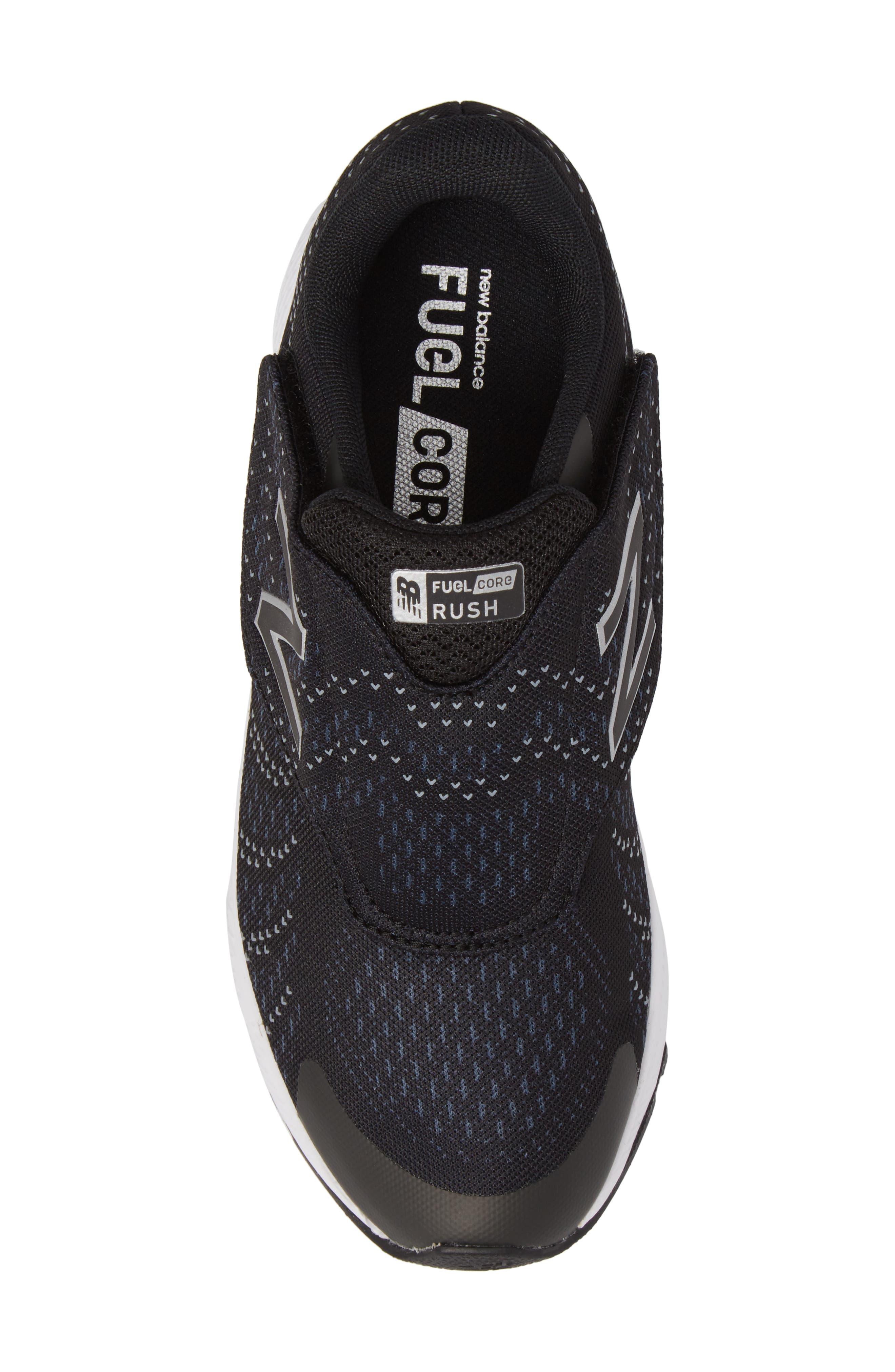 FuelCore Rush v3 Sneaker,                             Alternate thumbnail 5, color,                             Black