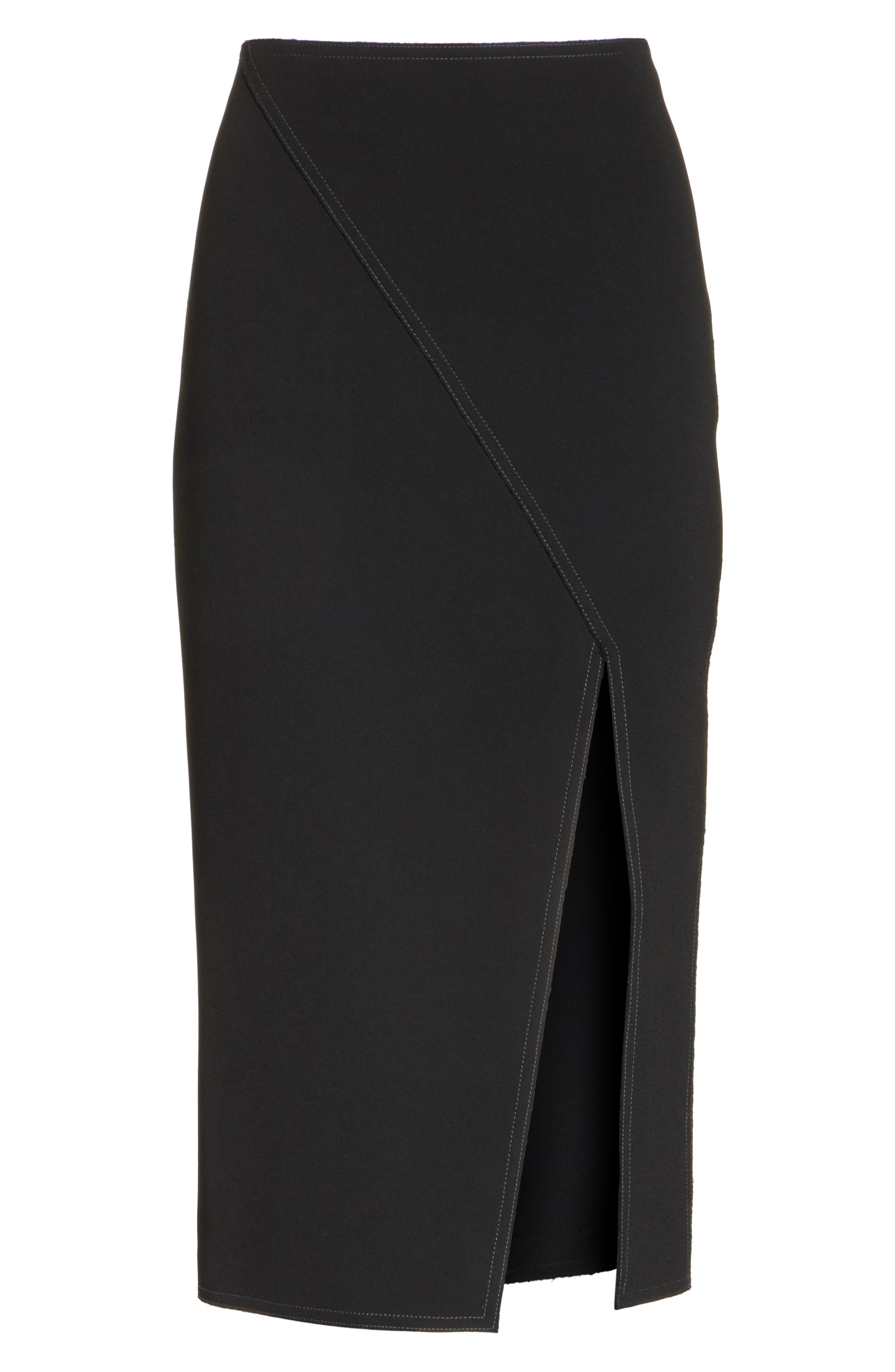 Alternate Image 6  - Jason Wu Compact Crepe Pencil Skirt