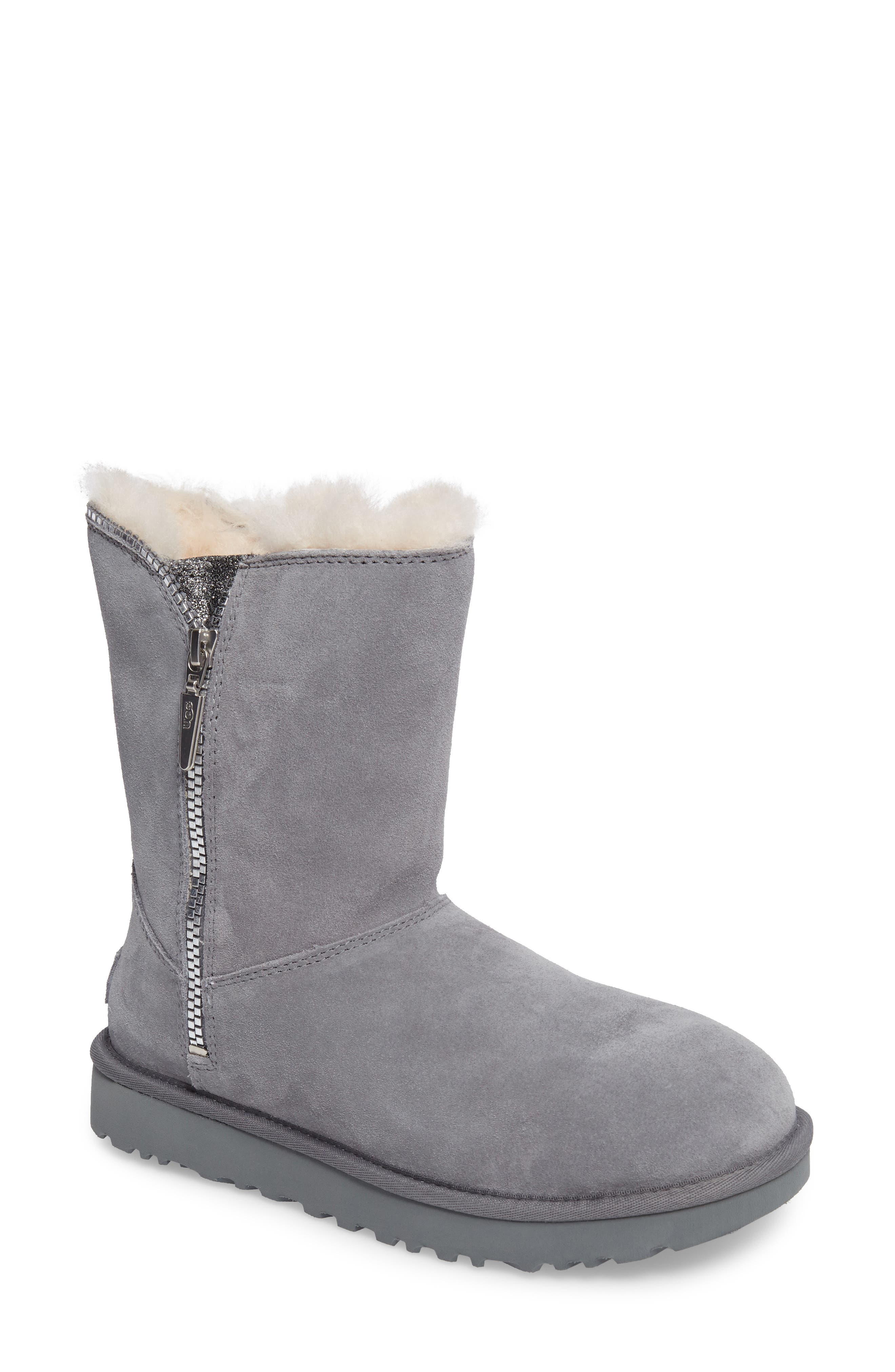 Alternate Image 1 Selected - UGG® Marice Glitter Inset Boot (Women)