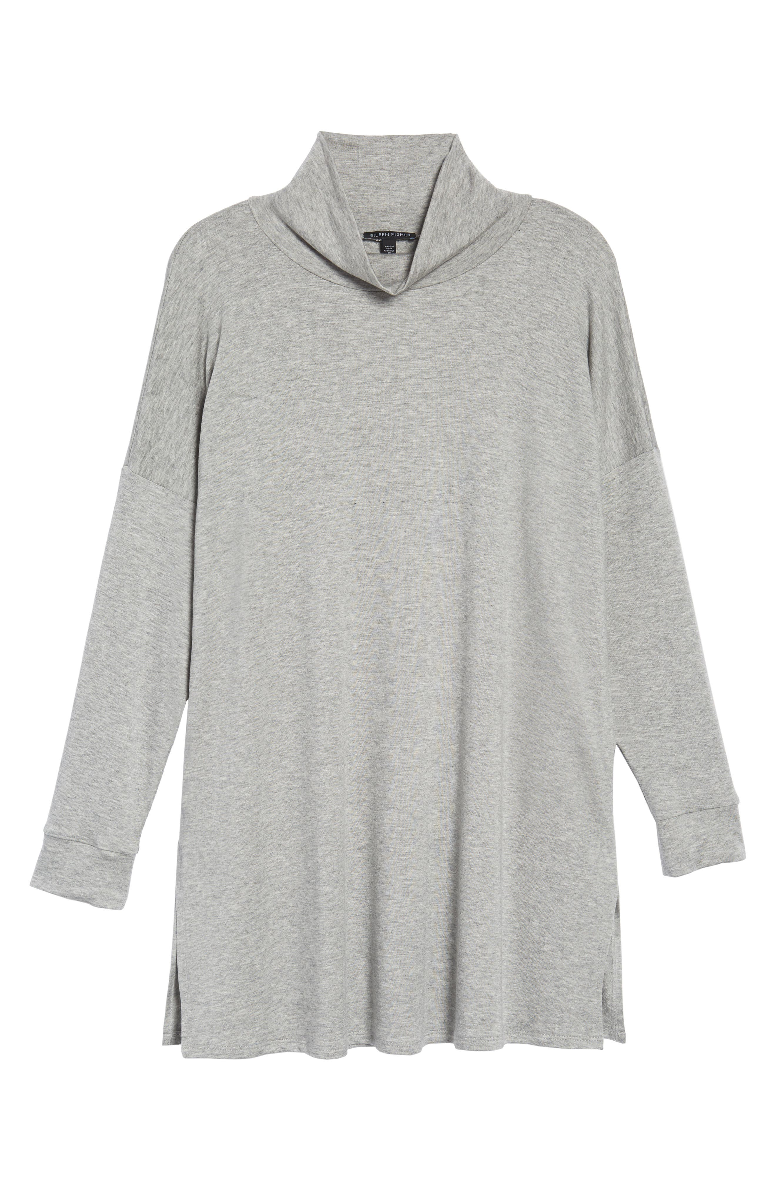 Alternate Image 6  - Eileen Fisher Funnel Neck Knit Tunic
