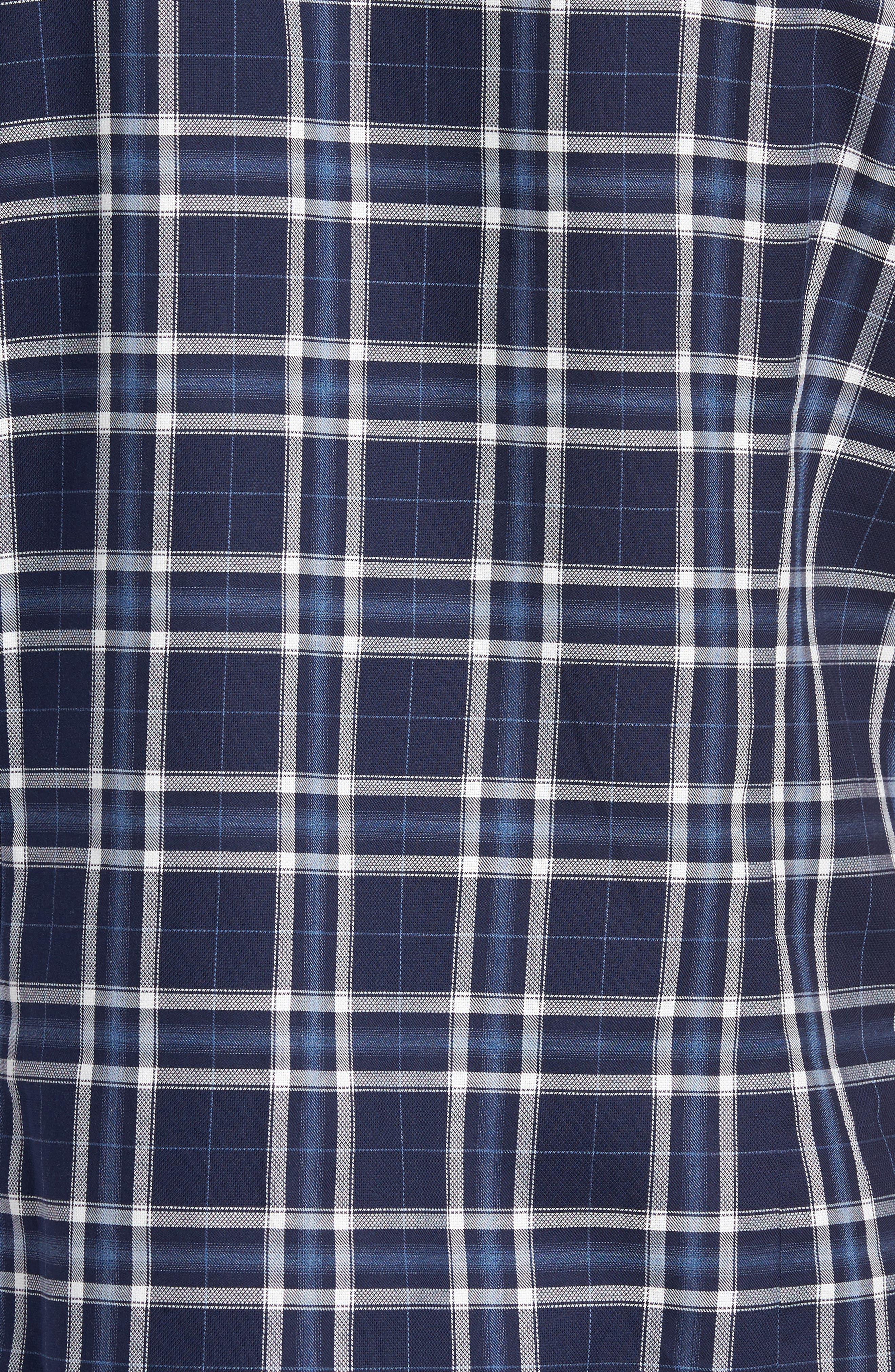 Alternate Image 6  - Good Man Brand Slim Fit Plaid Sport Shirt