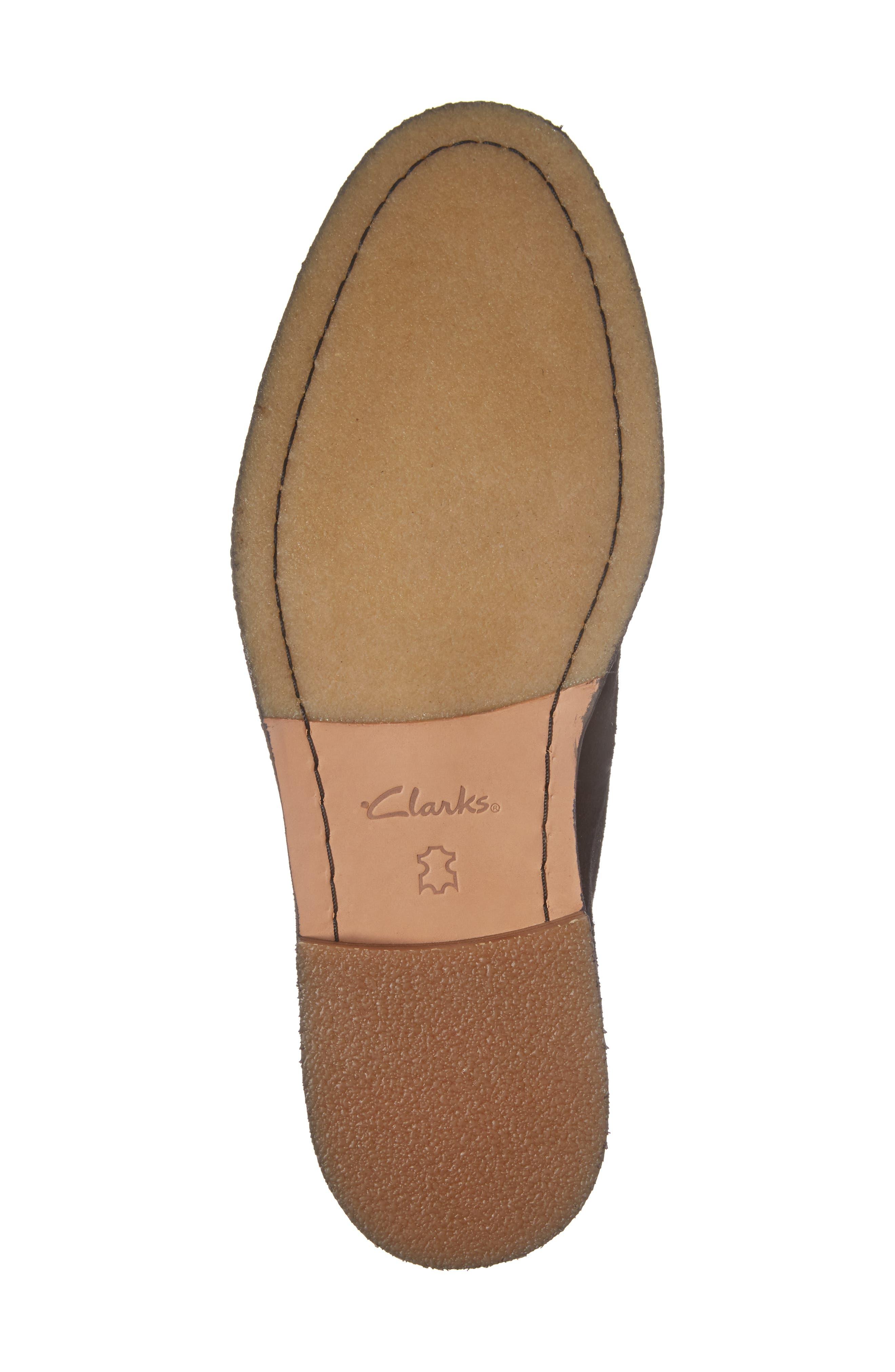 Clarks Clarkdale Moon Buck Shoe,                             Alternate thumbnail 6, color,                             Black Suede
