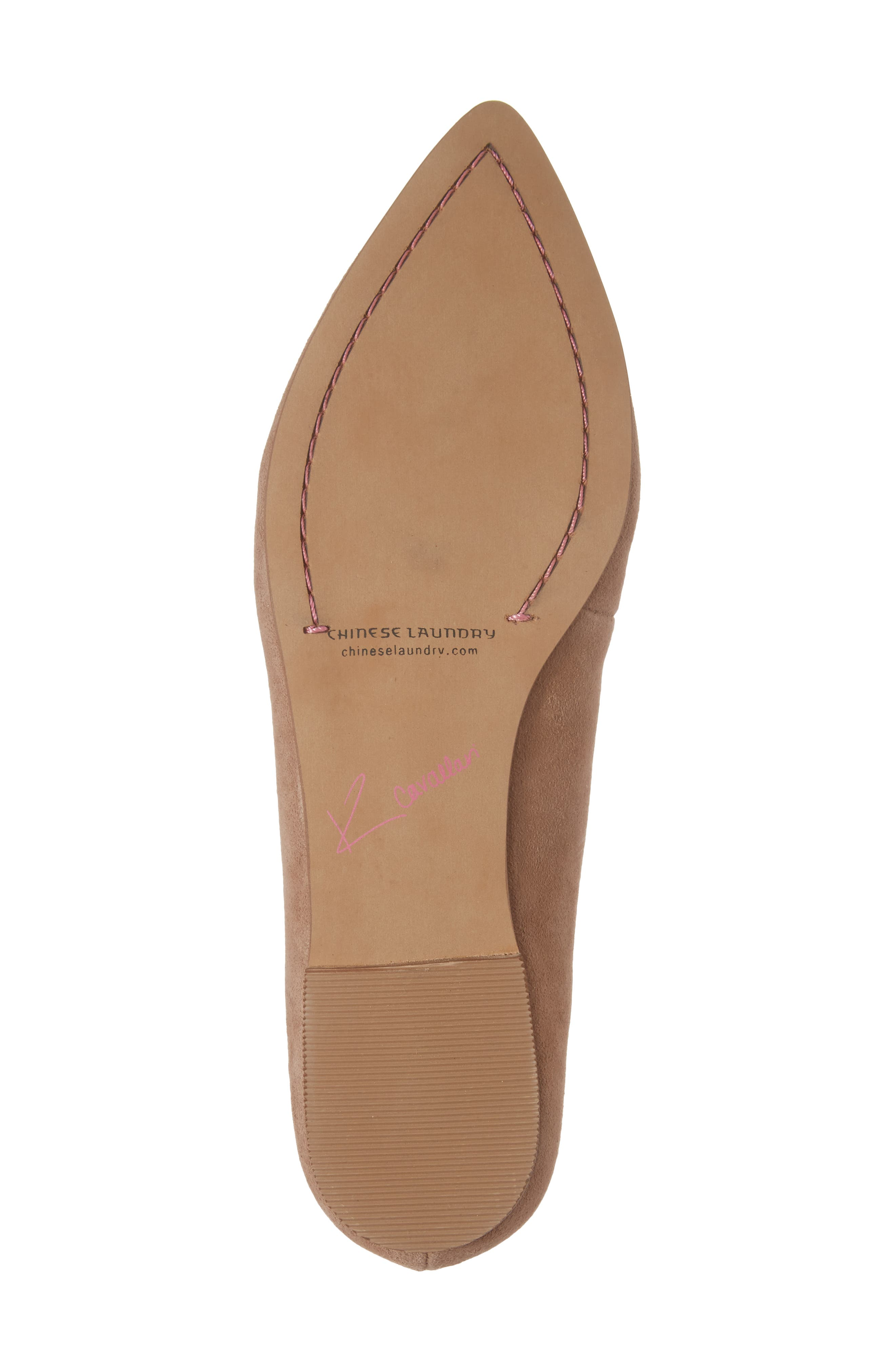 Cambrie Loafer Flat,                             Alternate thumbnail 6, color,                             Clay Suede