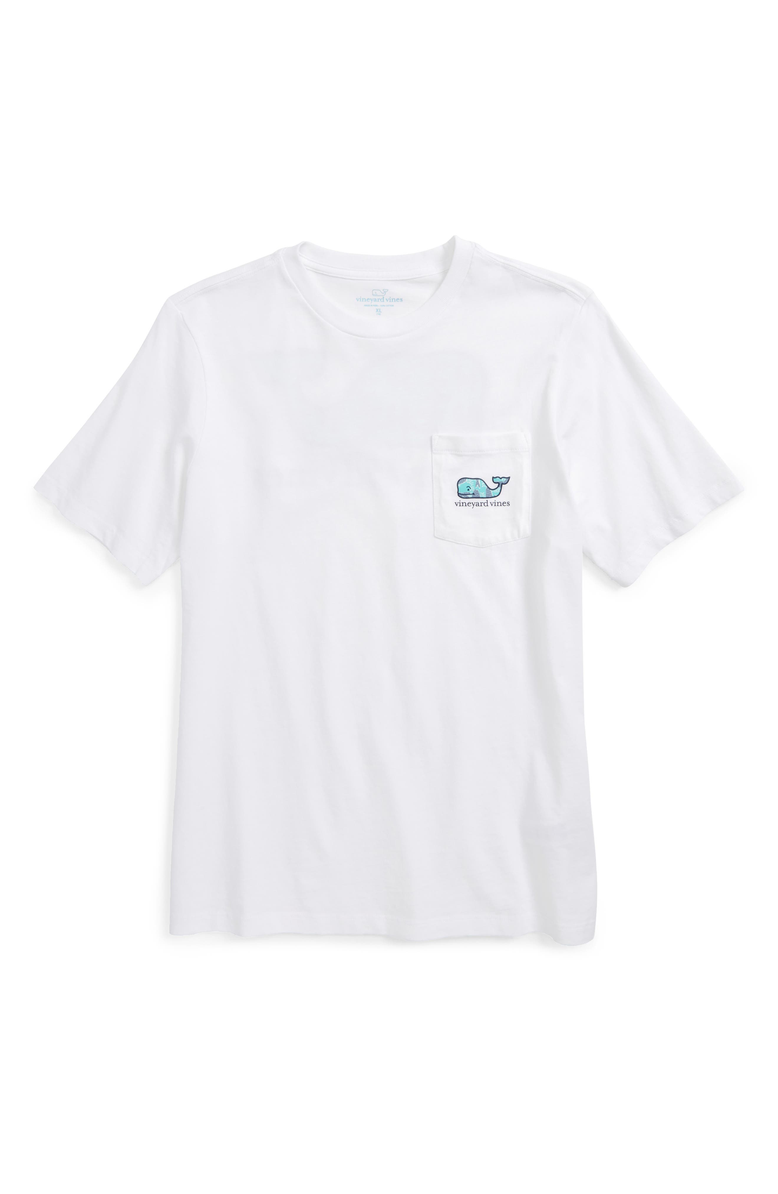 Vineyard Vines Chevron Fish Graphic T-Shirt (Big Boys)
