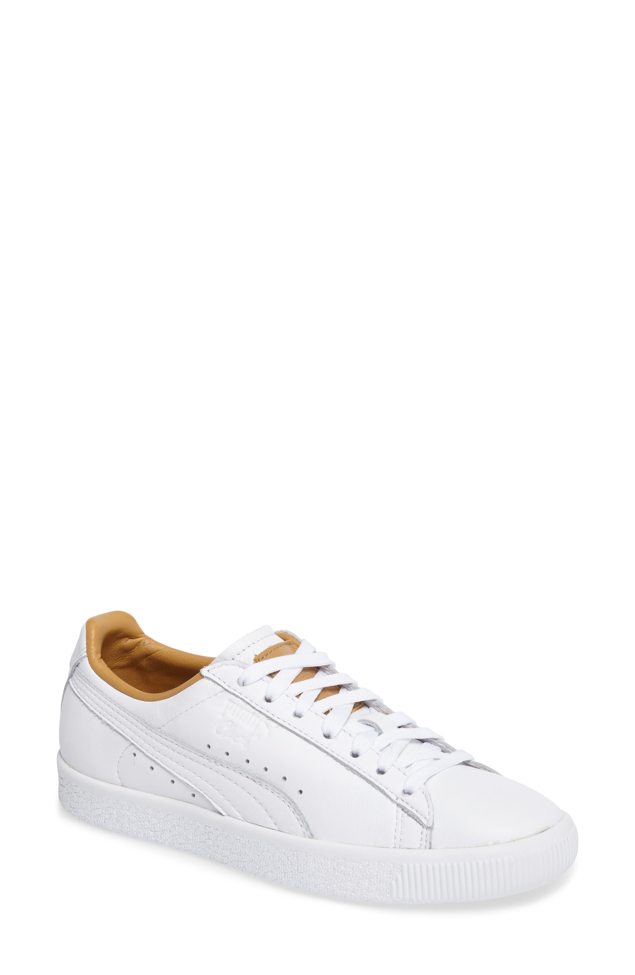 puma beige sneakers