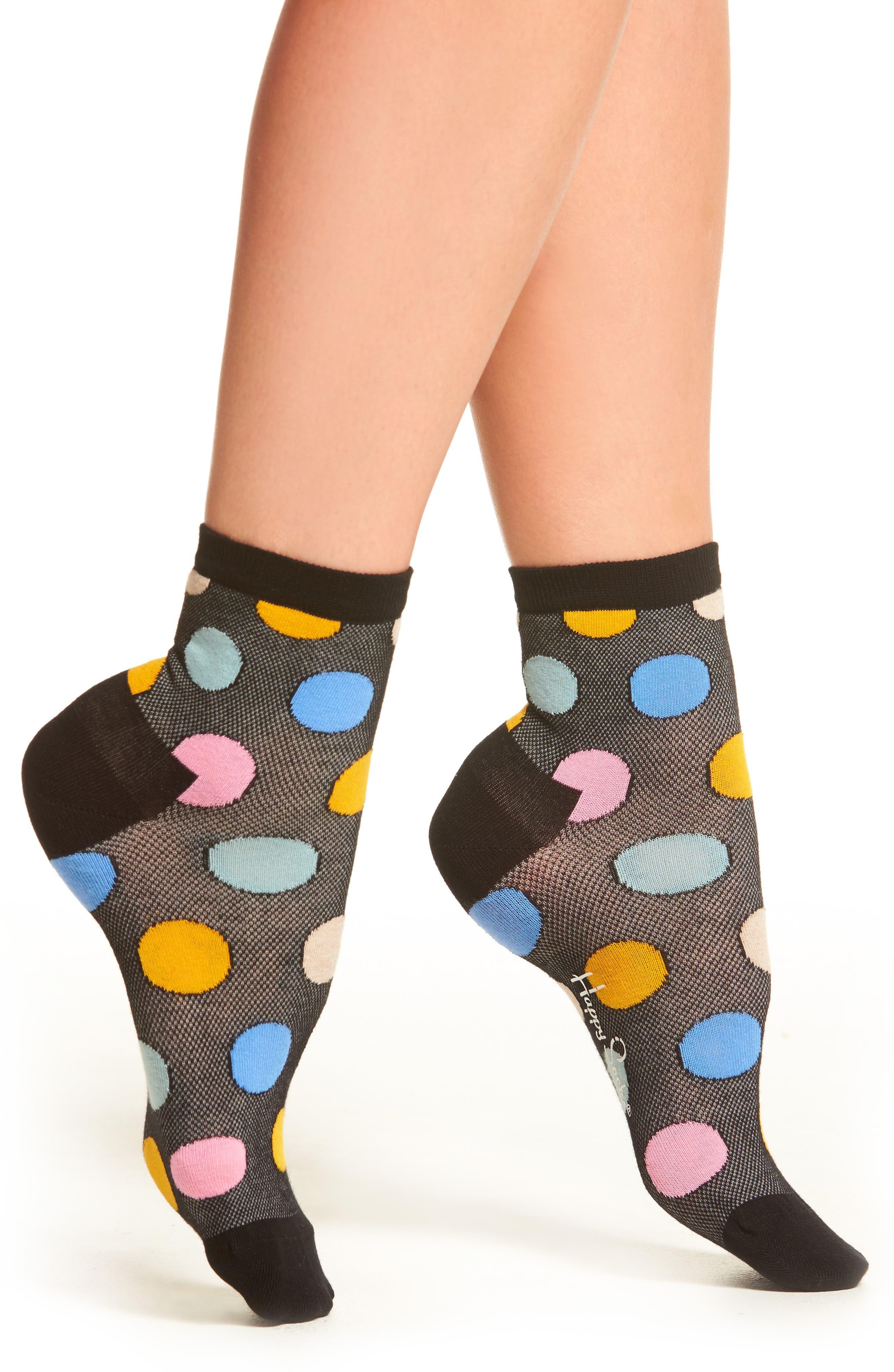 Happy Socks Big Dot Socks (3 for $24)