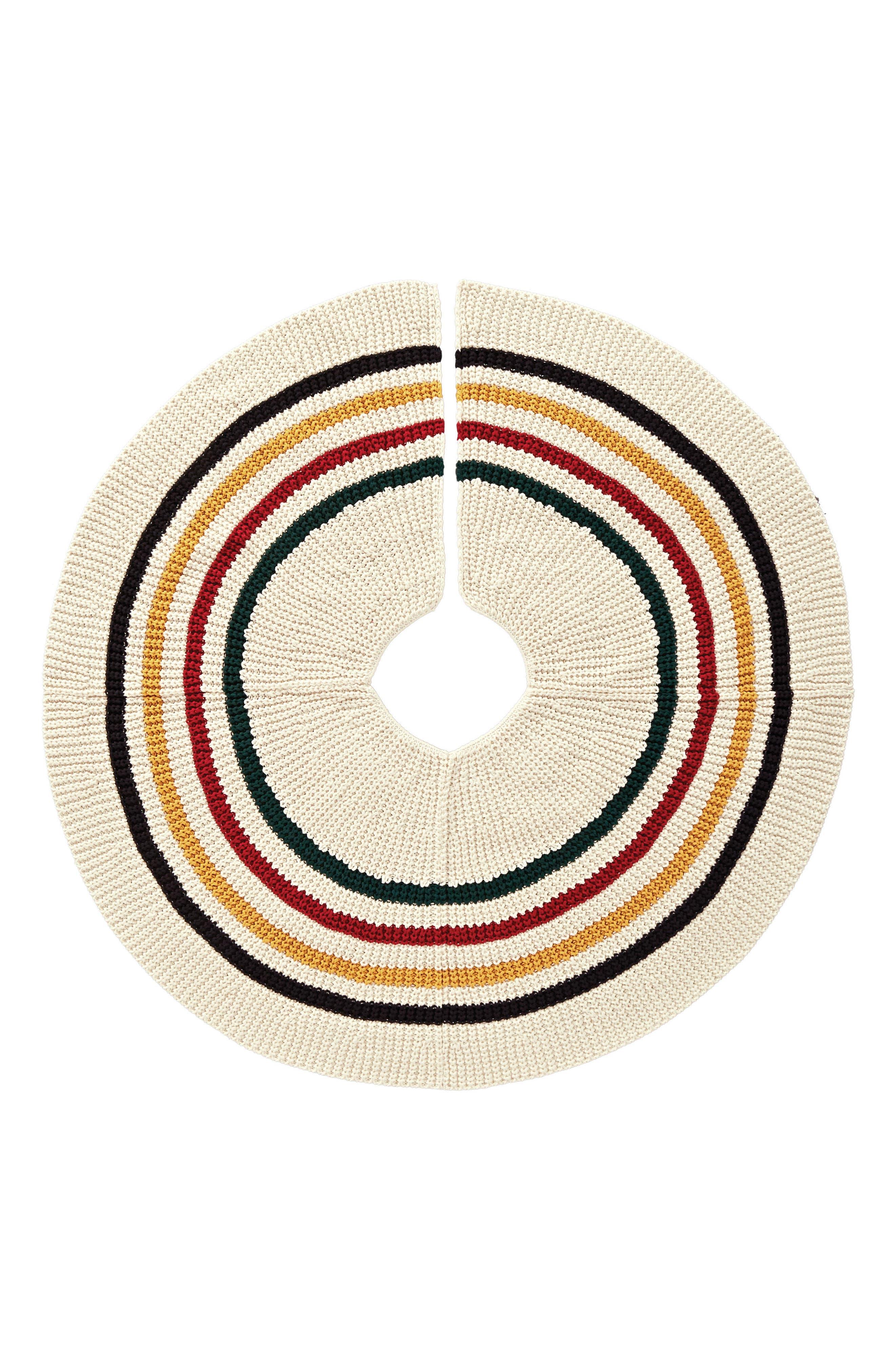 Alternate Image 1 Selected - Pendleton Glacier Park Knit Tree Skirt