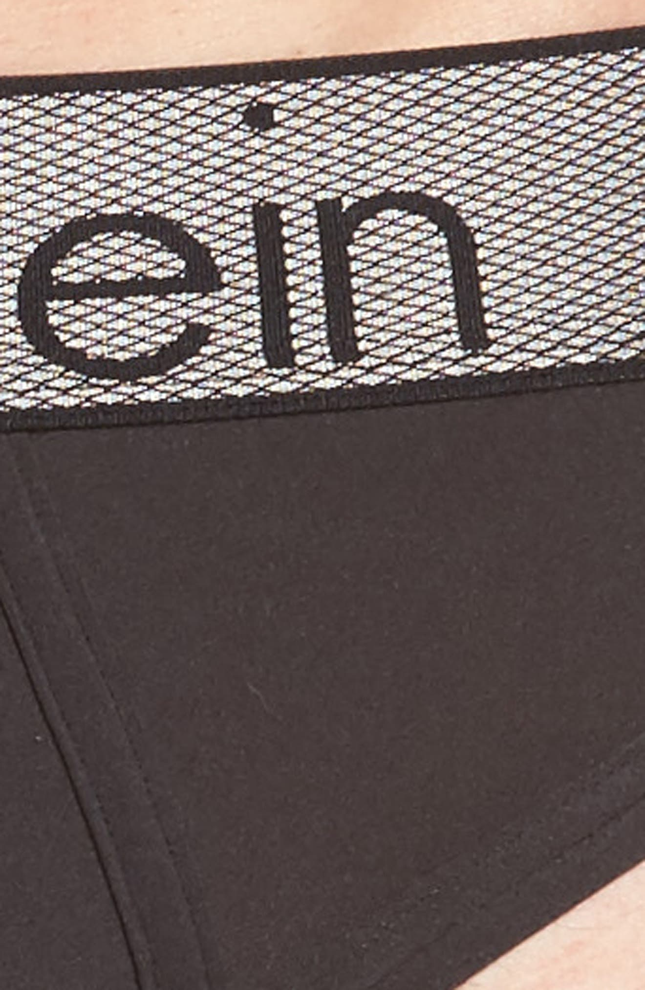 Alternate Image 4  - Calvin Klein Stretch Hip Briefs