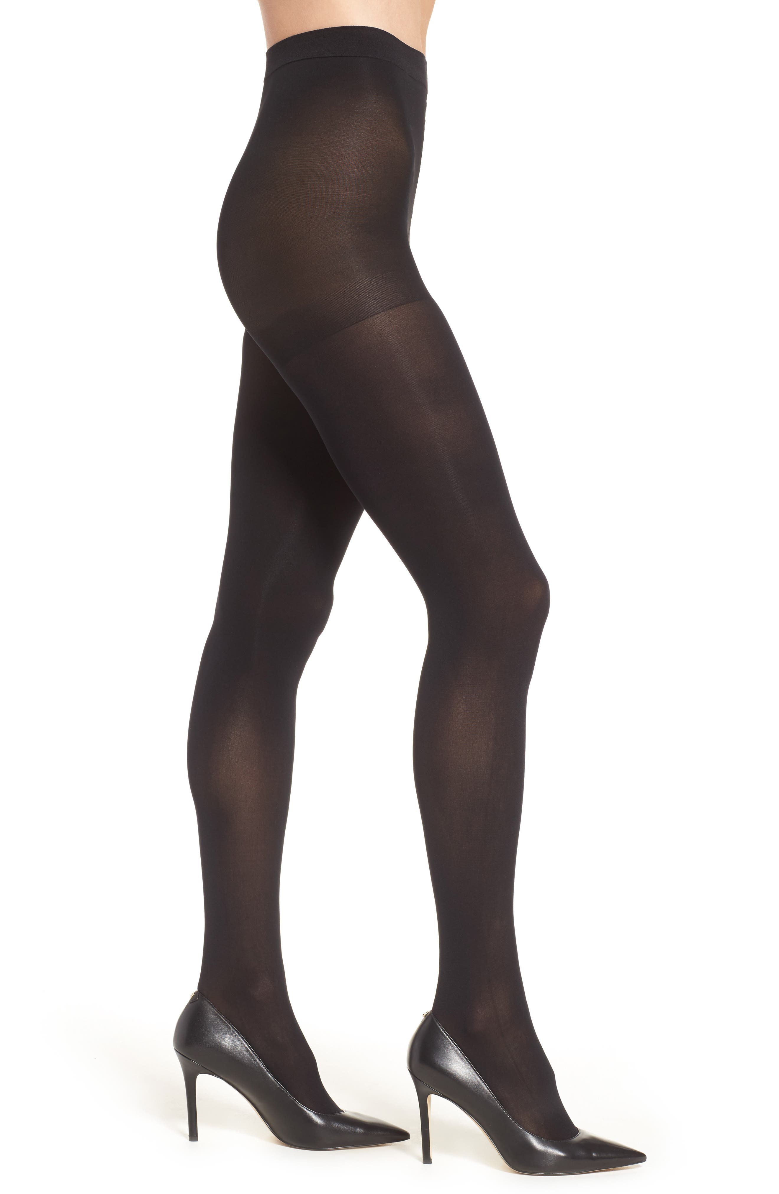 Main Image - Nordstrom Opaque Control Top Tights (2 for $24)