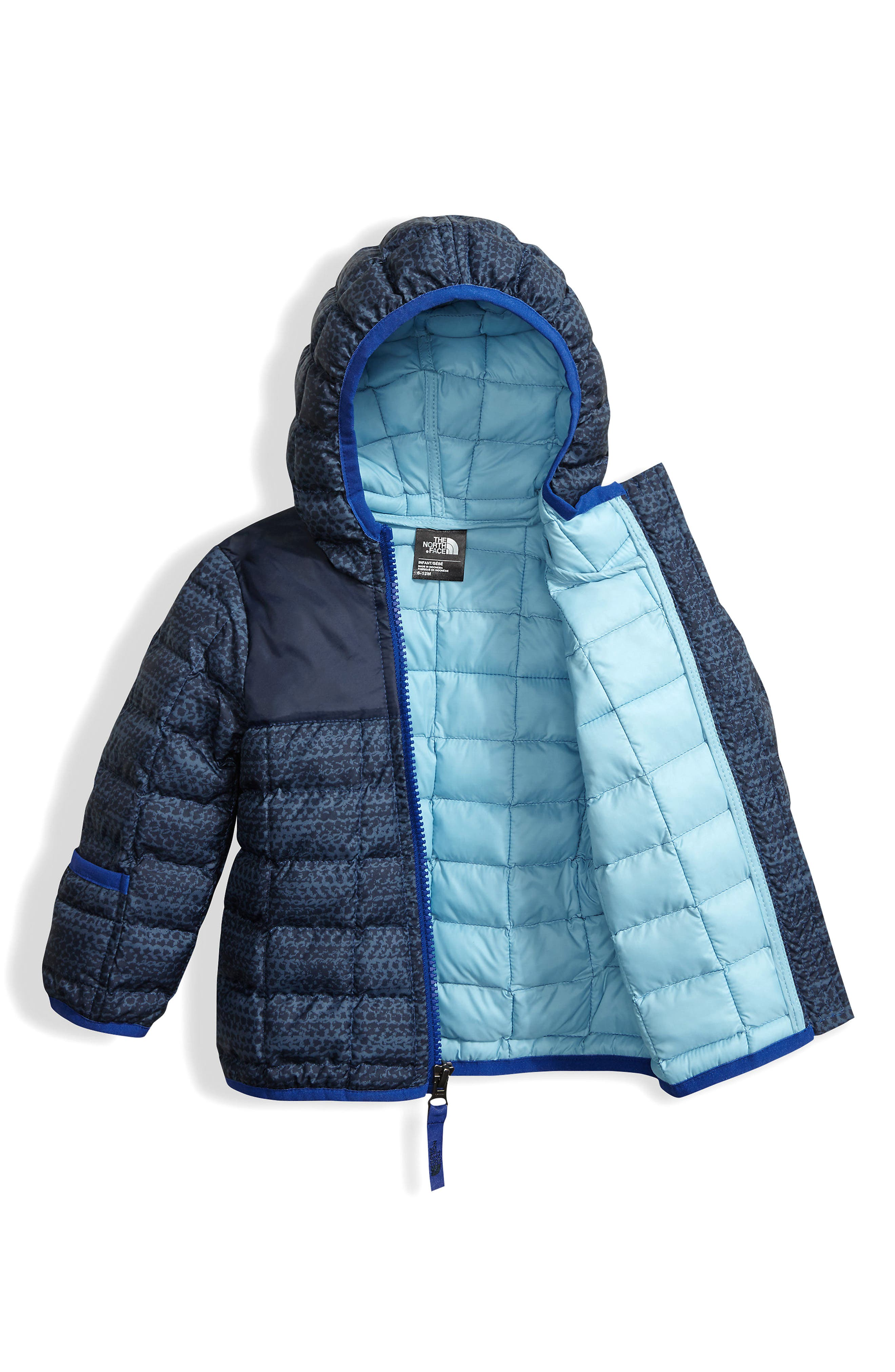ThermoBall<sup>™</sup> PrimaLoft<sup>®</sup> Hoodie Jacket,                             Alternate thumbnail 3, color,                             Cosmic Blue Chain
