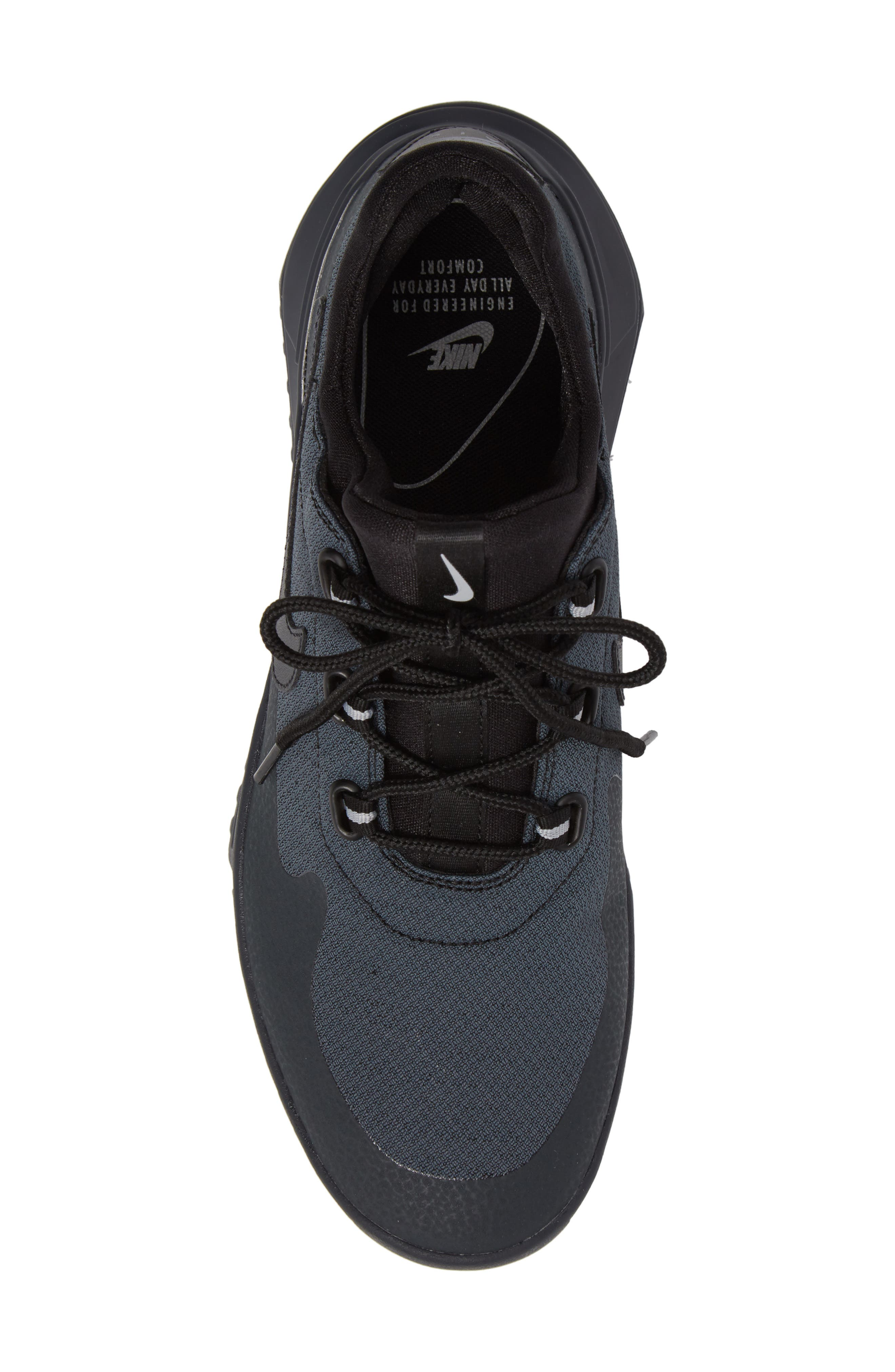 Air Wild Sneaker,                             Alternate thumbnail 5, color,                             Black/ Anthracite/ Grey