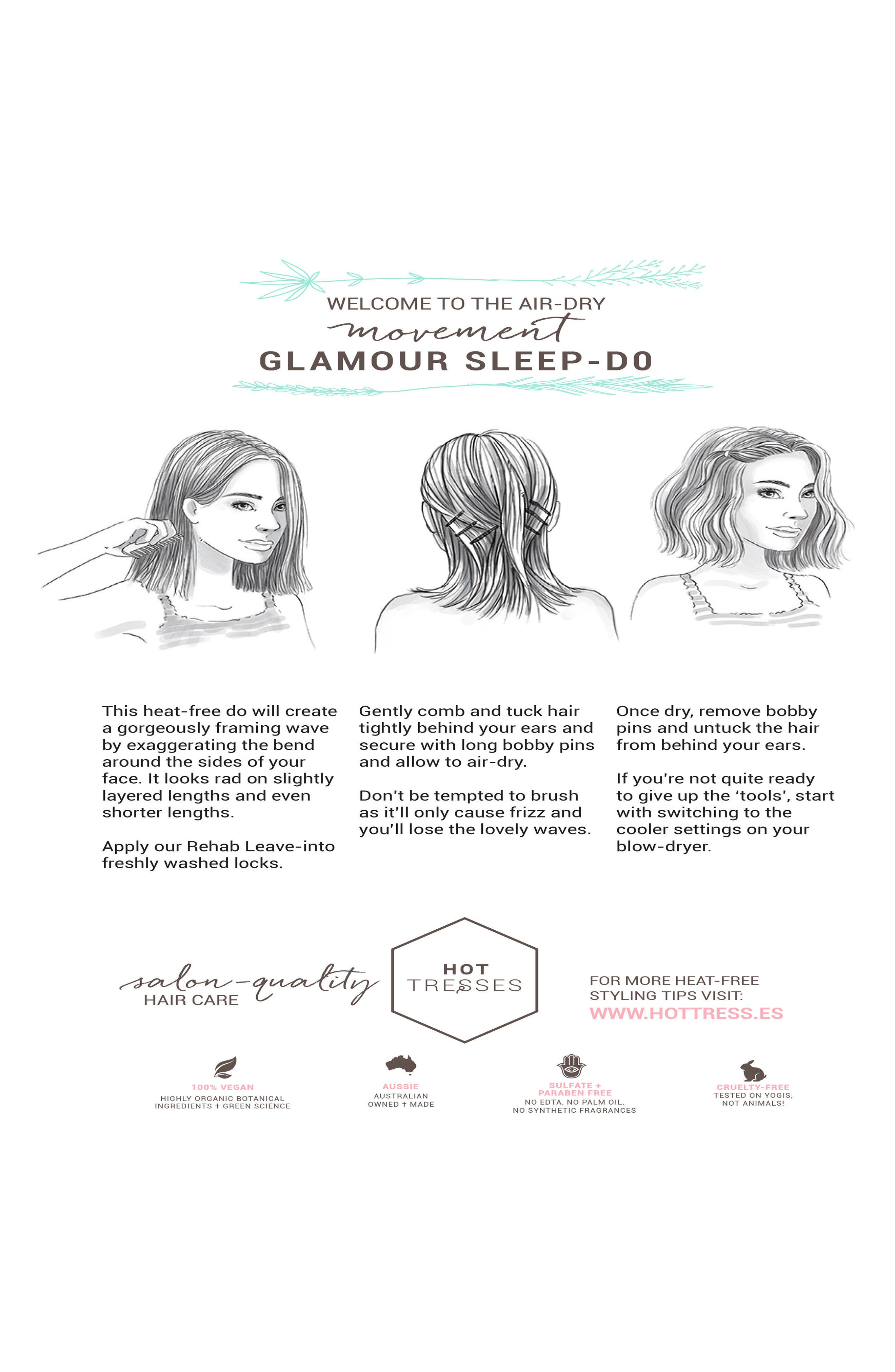 Alternate Image 5  - Hot Tresses Intensive + Hydrating Rehab Conditioner