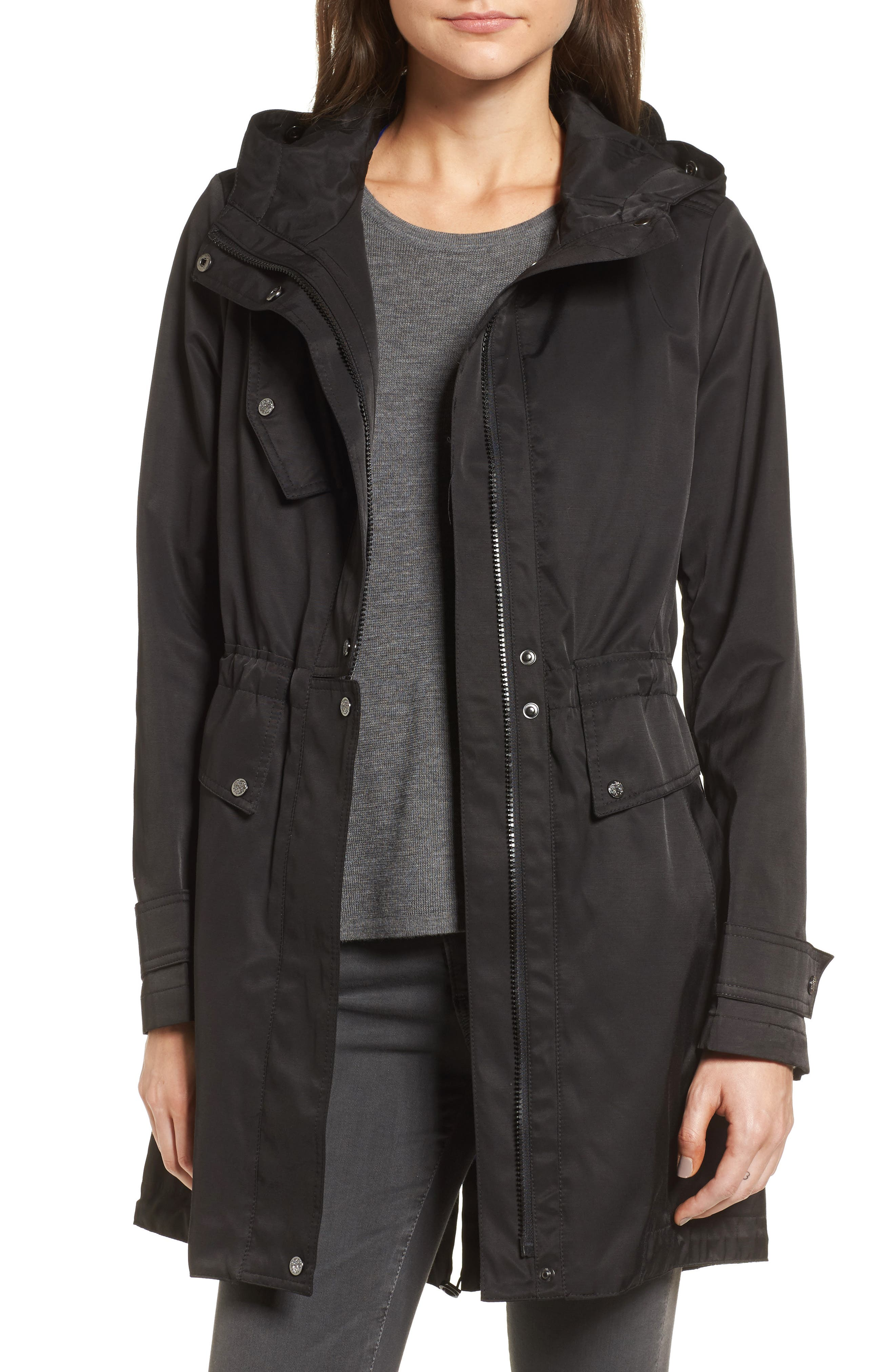Alternate Image 4  - Vince Camuto Parka with Detachable Bib Insert