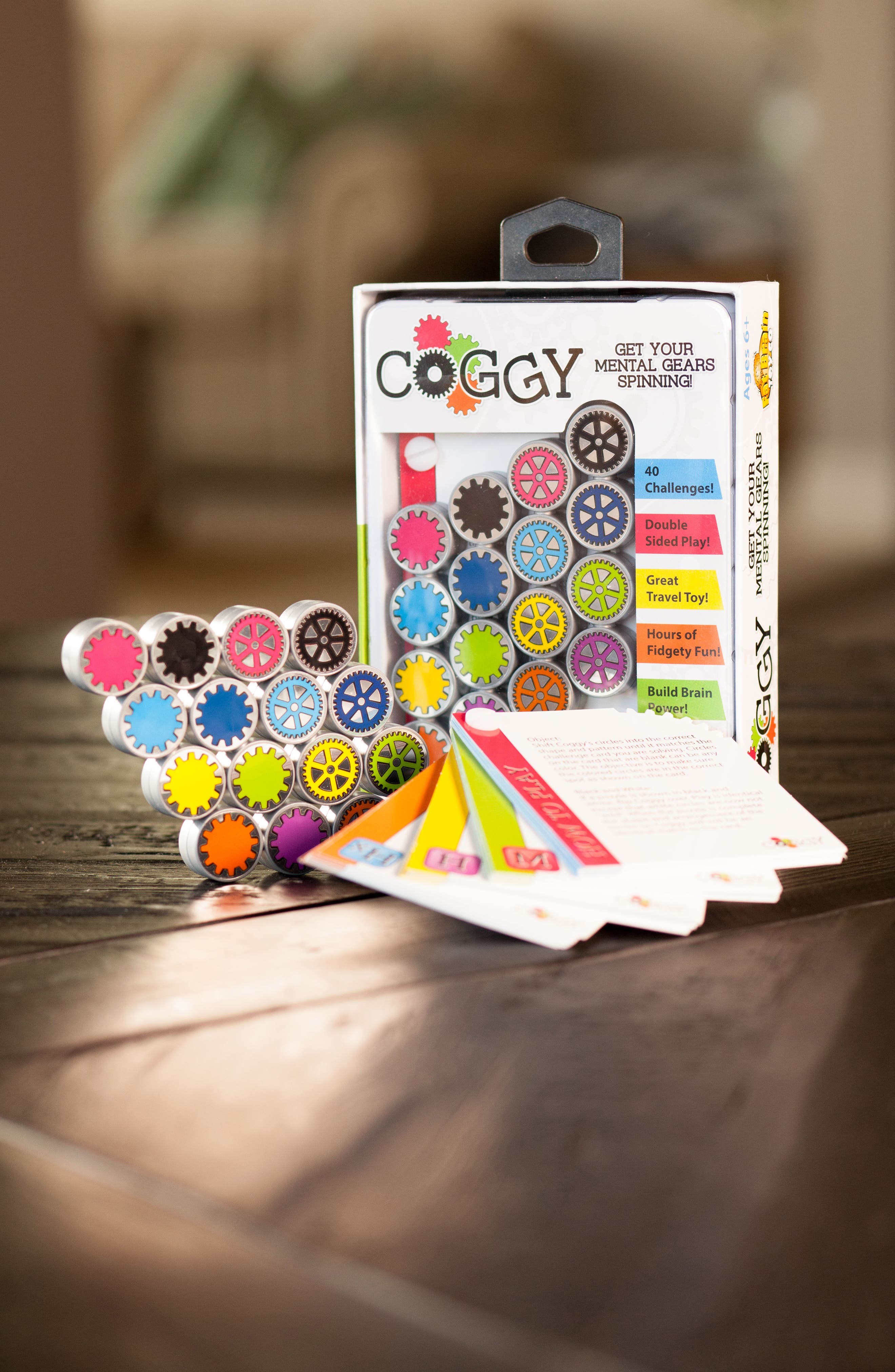 Coggy Brain Teaser Toy,                             Alternate thumbnail 3, color,                             White