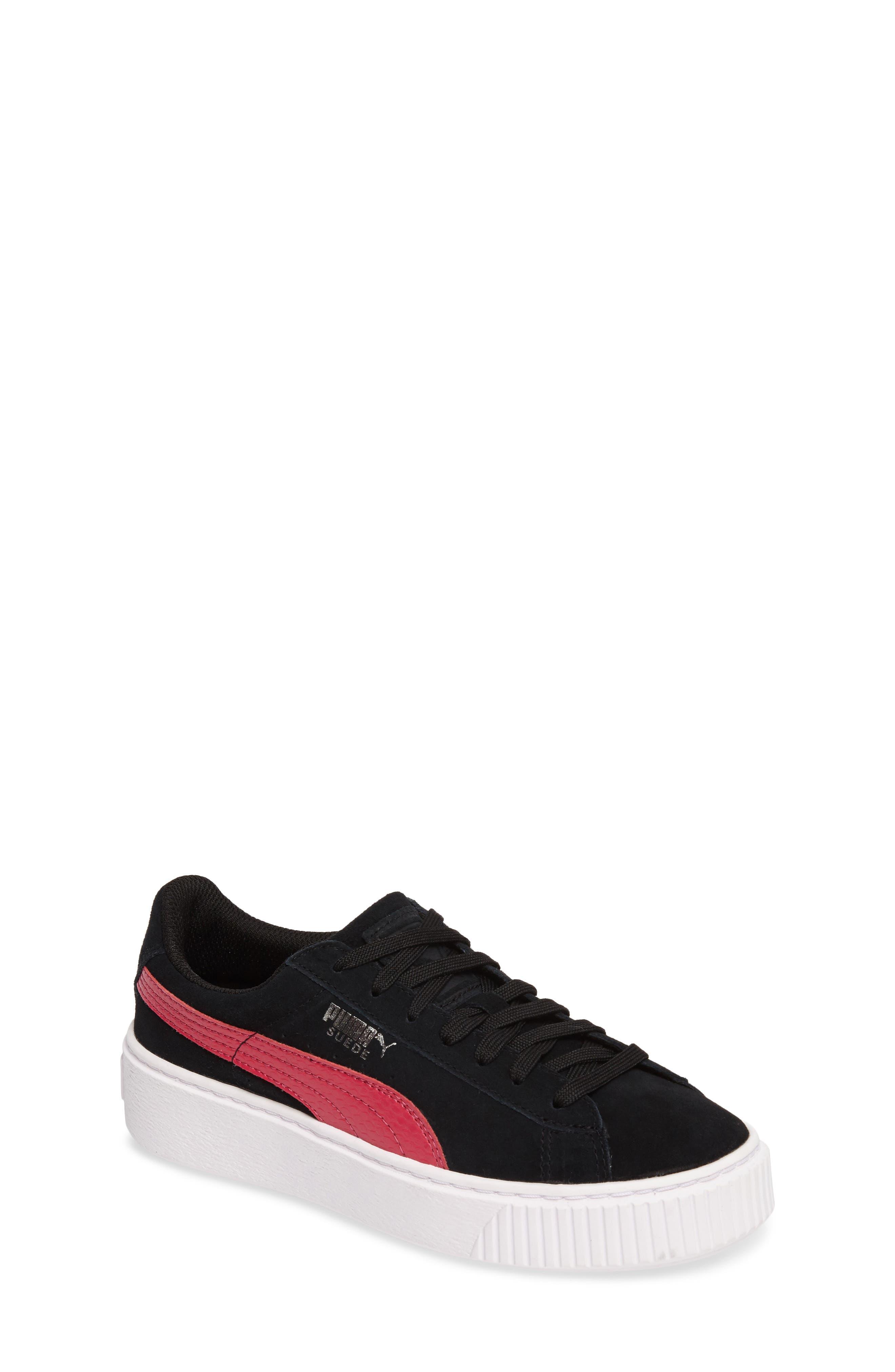 PUMA Platform Sneaker (Big Kid)