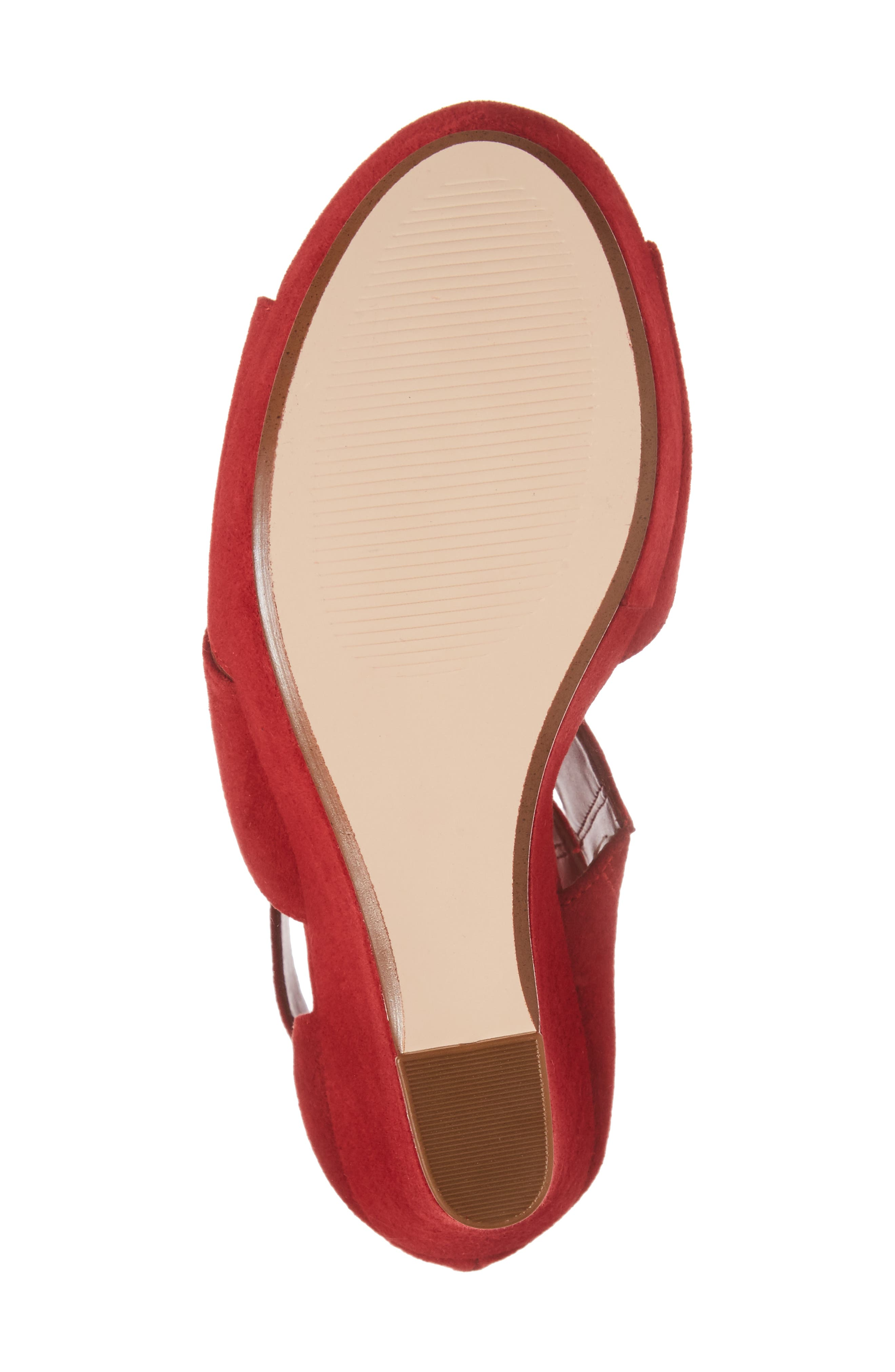 Alternate Image 6  - Steve Madden Essey Asymmetrical Platform Wedge Sandal (Women)