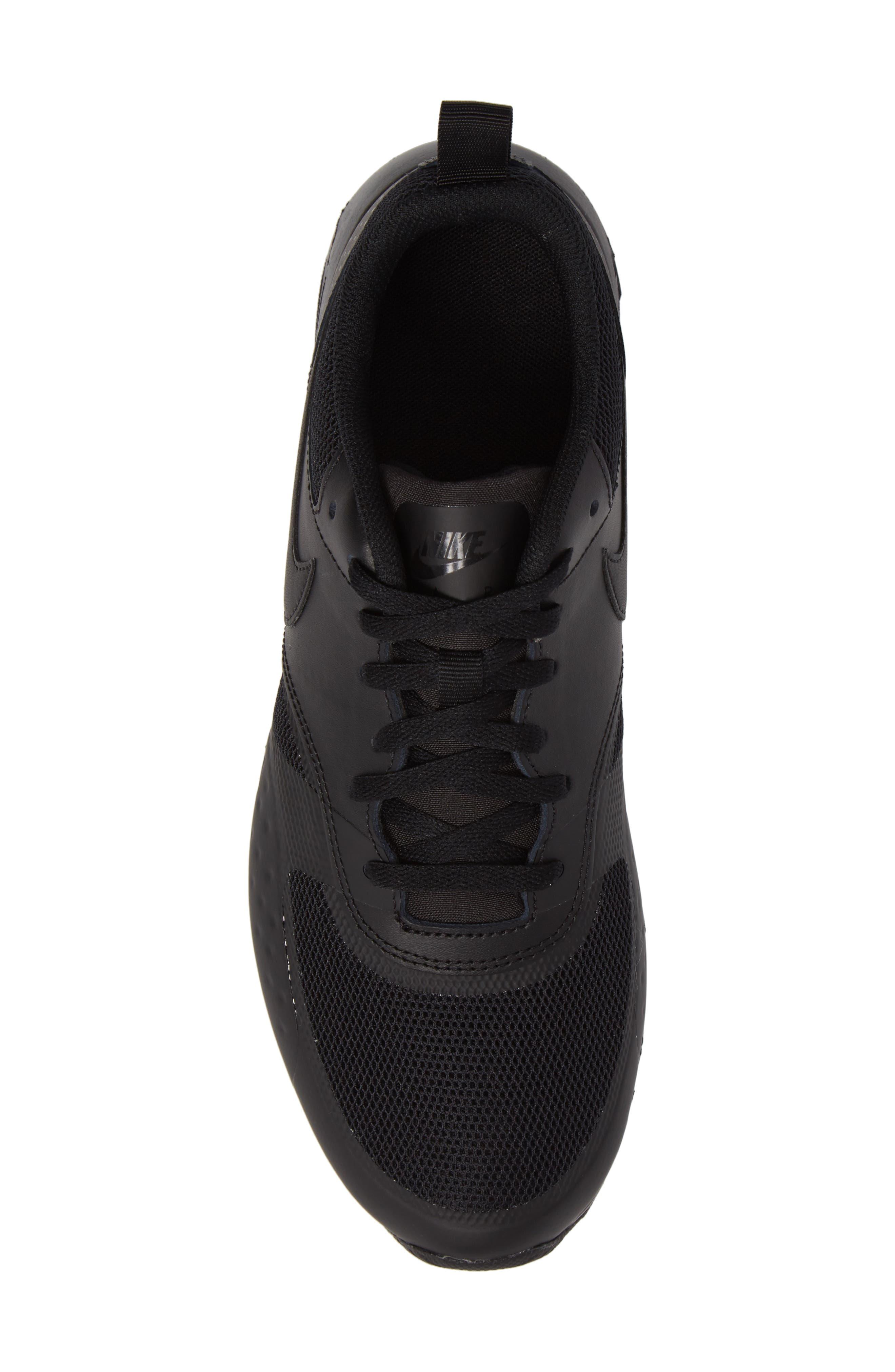 Air Max Vision Sneaker,                             Alternate thumbnail 5, color,                             Black