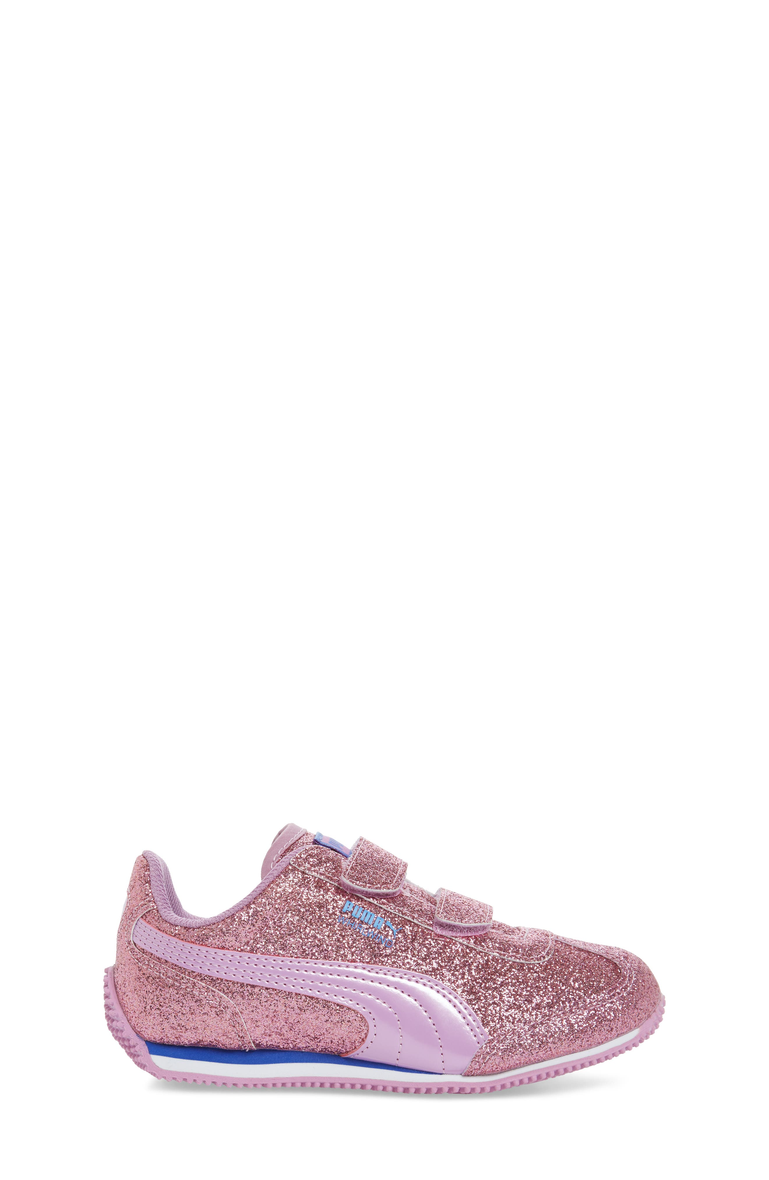 Whirlwind Glitz Sneaker,                             Alternate thumbnail 3, color,                             Purple