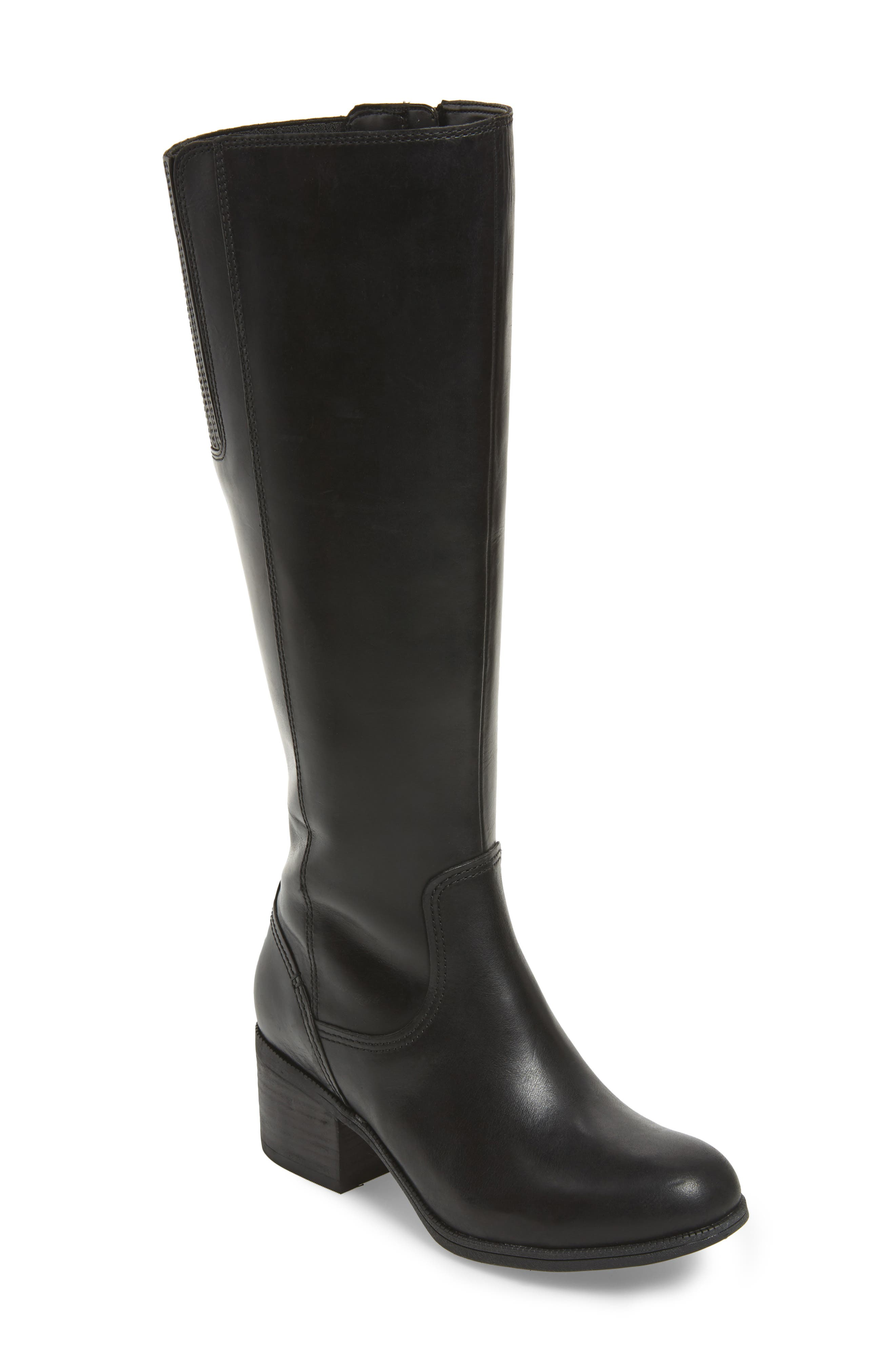Maypearl Viola Boot,                         Main,                         color, Black Leather