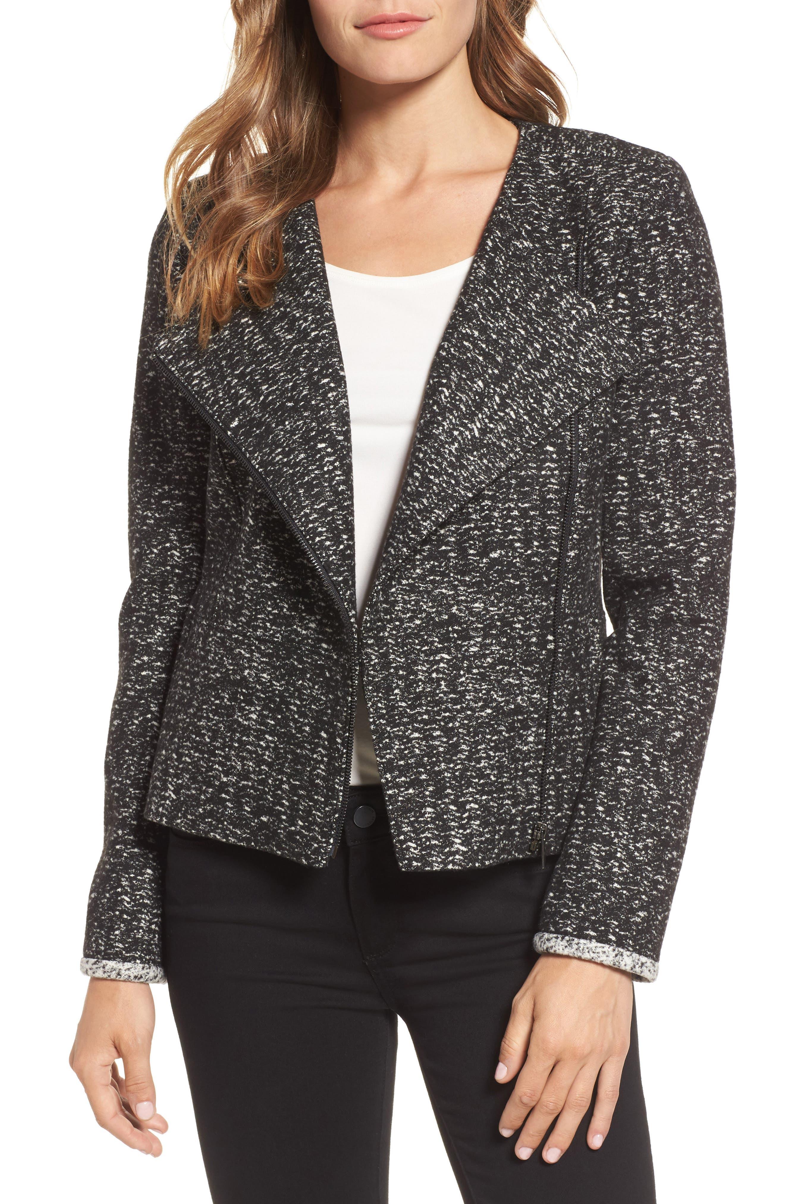 Emerson Rose Contrast Trim Jacket