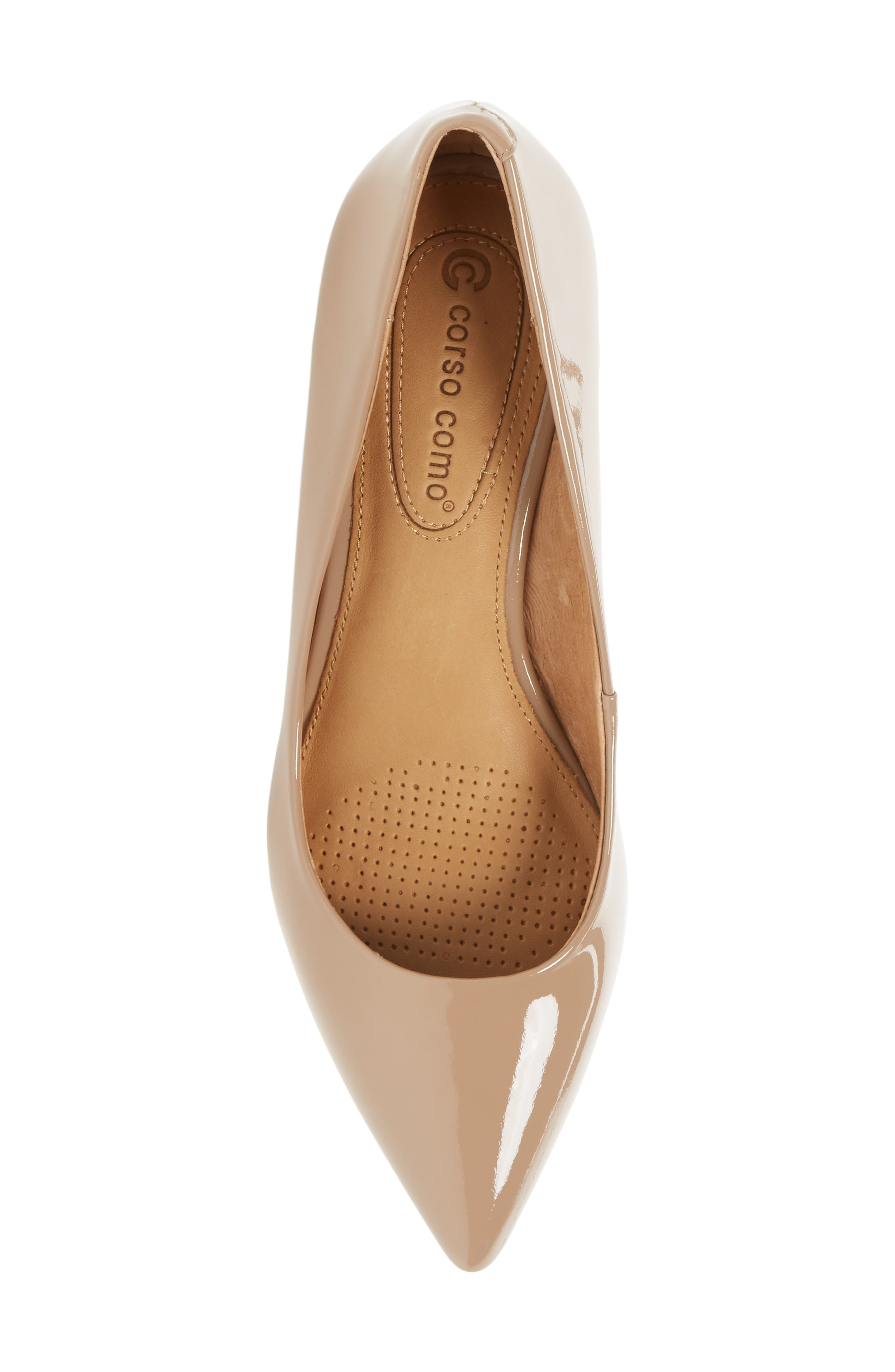 Alternate Image 5  - Corso Como Nelly Pointy Toe Wedge Pump (Women)