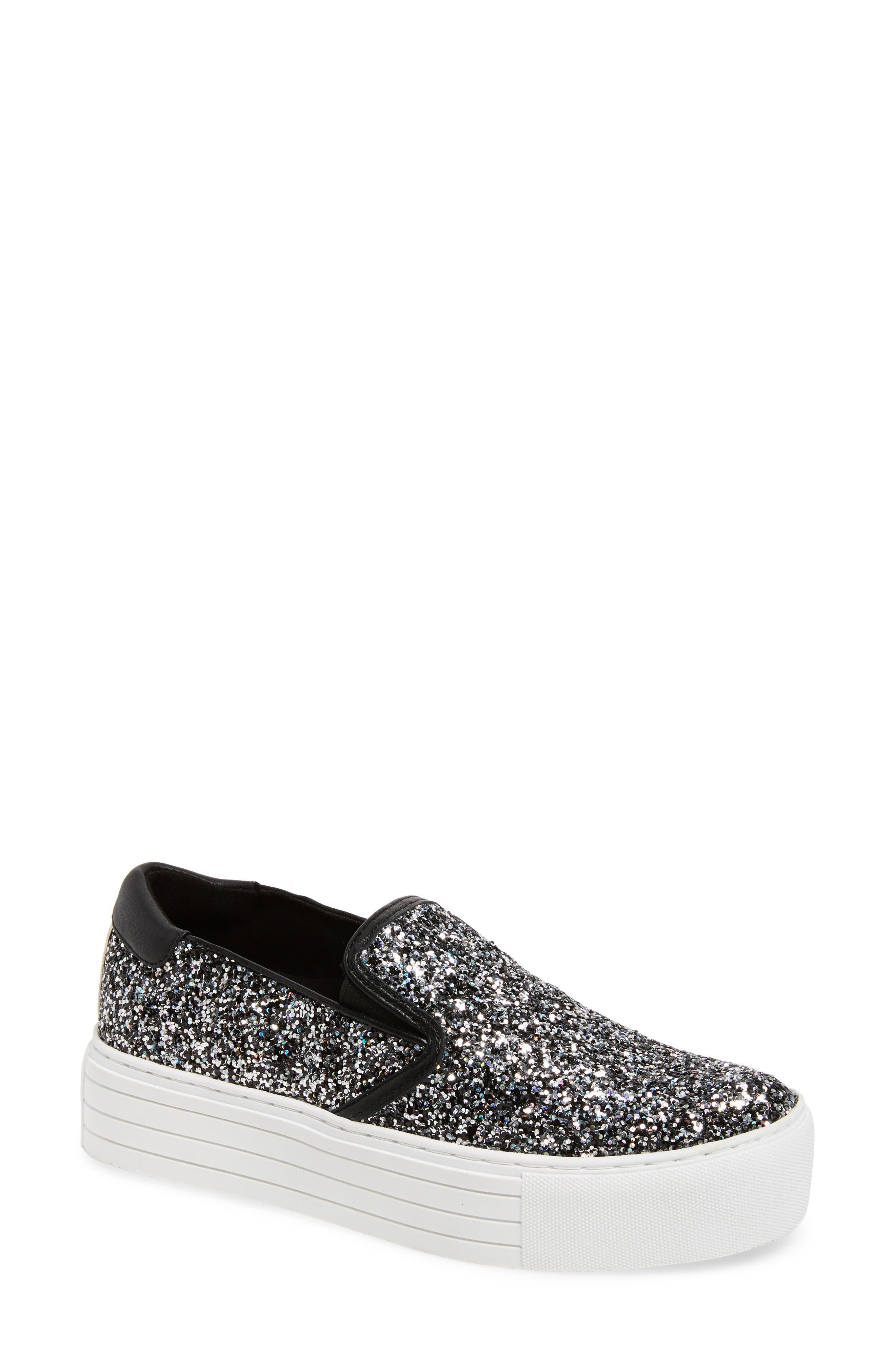 KENNETH COLE NEW YORK Joanie Slip-On Platform Sneaker