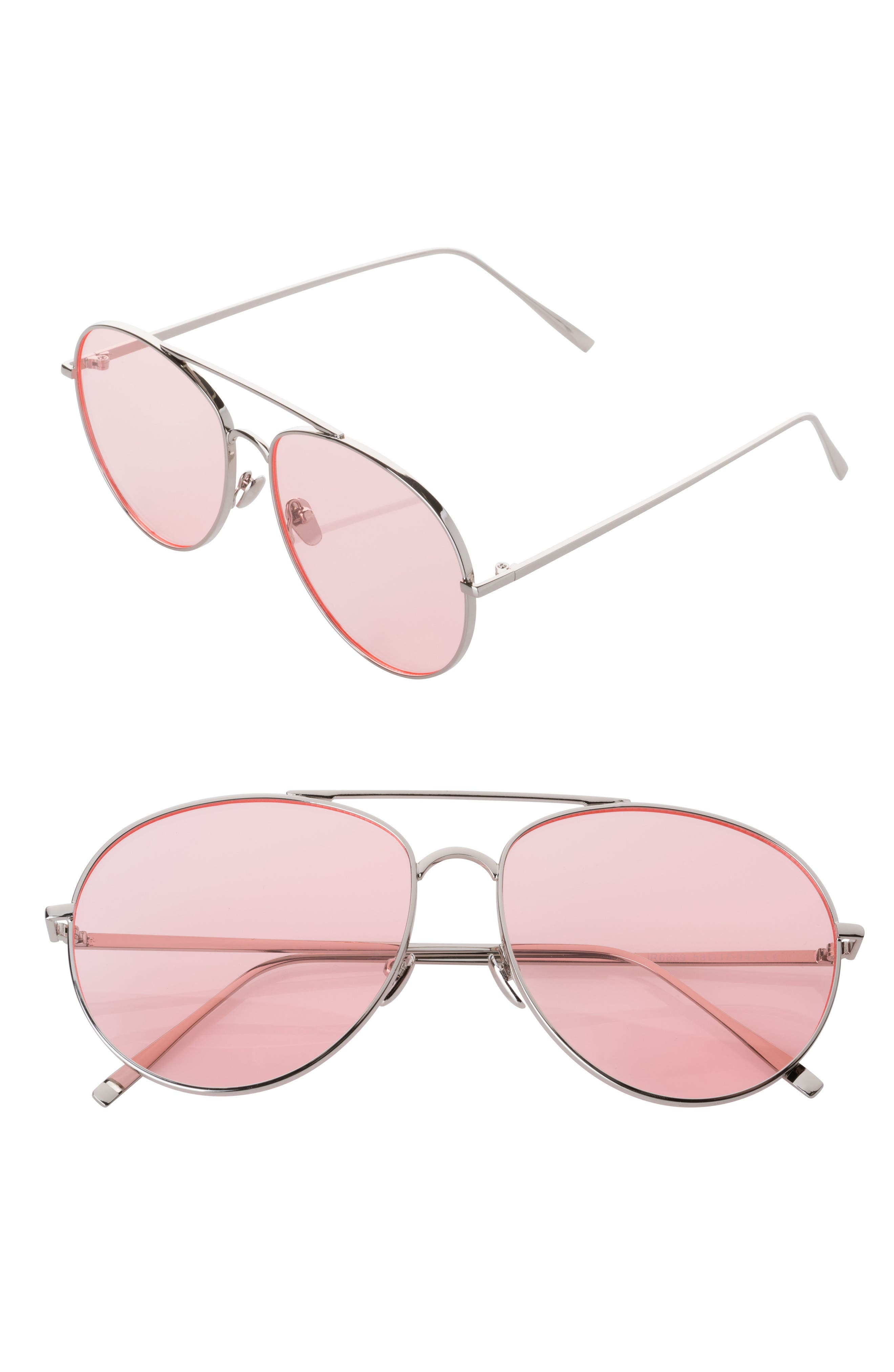 SunnySide LA 58mm Aviator Sunglasses
