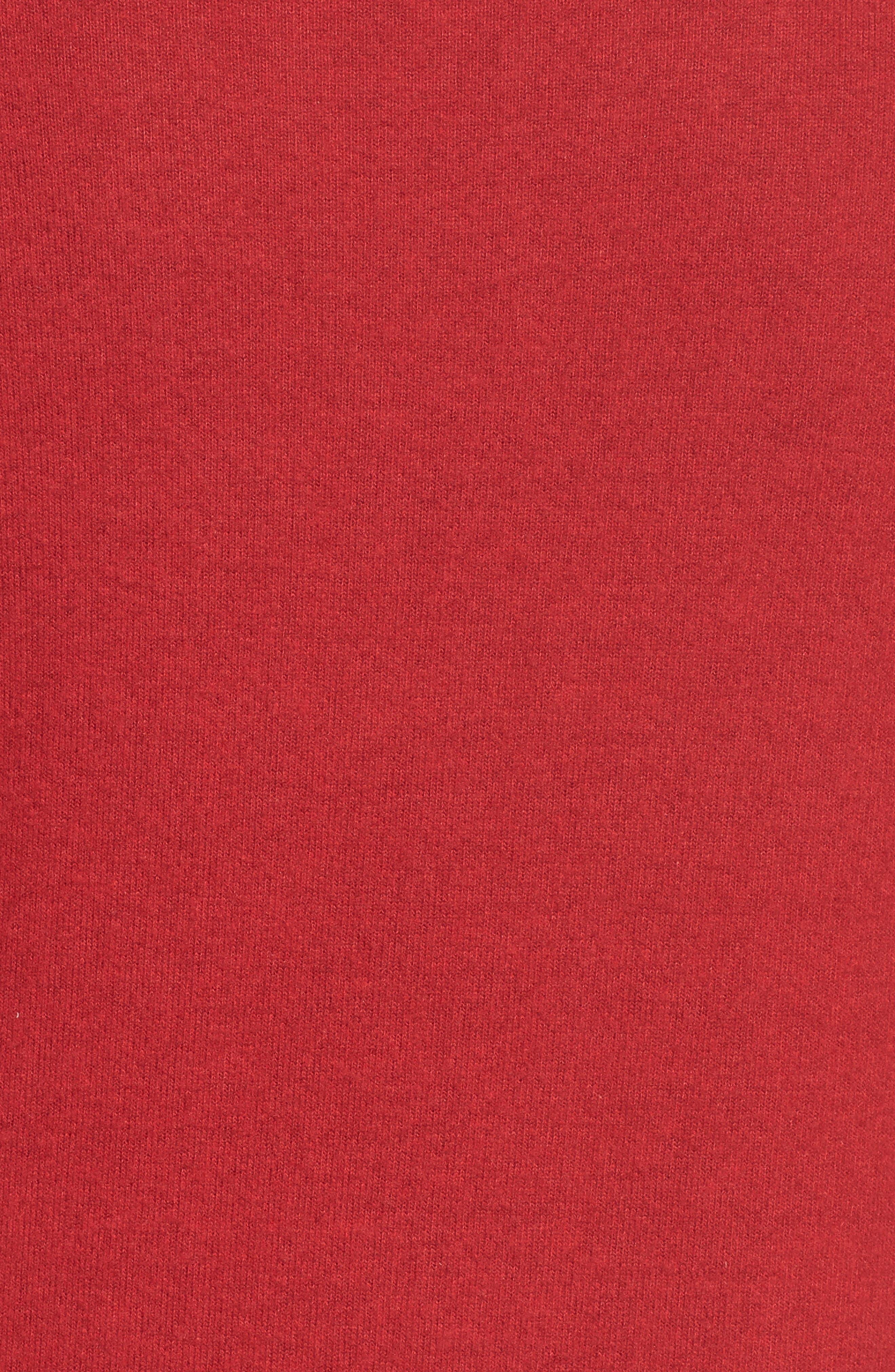 Alternate Image 5  - Gibson Twist Front Cozy Fleece Pullover (Regular & Petite)