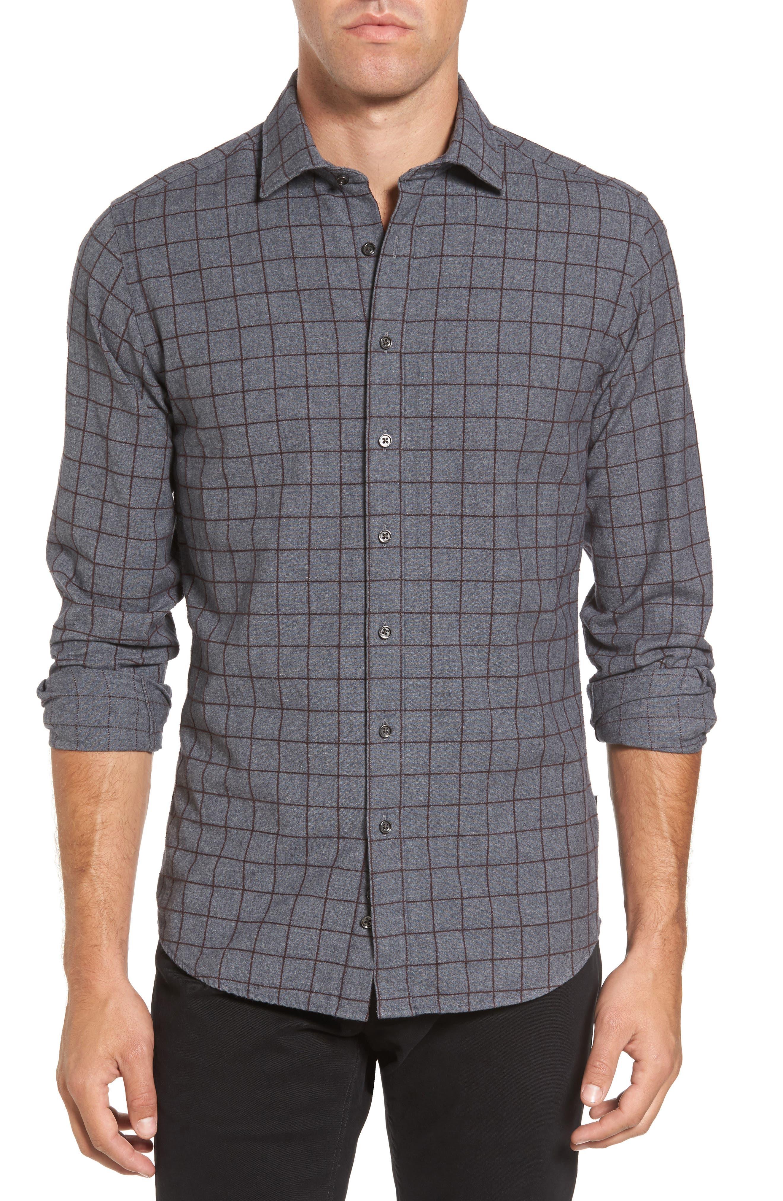 Rodd & Gunn Black Forest Regular Fit Check Sport Shirt