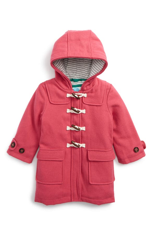 Mini Boden Hooded Duffle Coat (Toddler Girls, Little Girls & Big ...