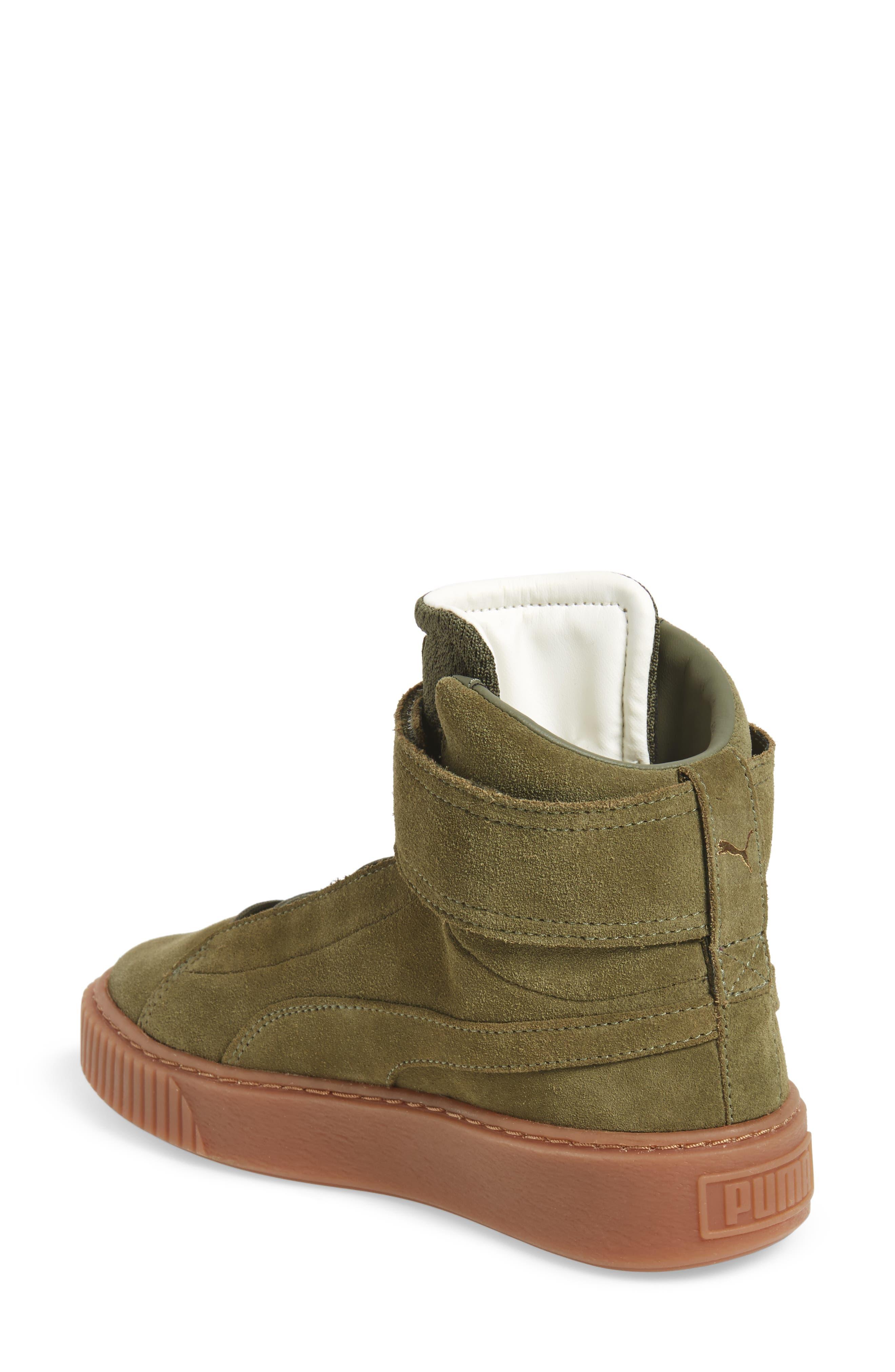 Alternate Image 2  - PUMA Platform Mid OW Sneaker (Women)