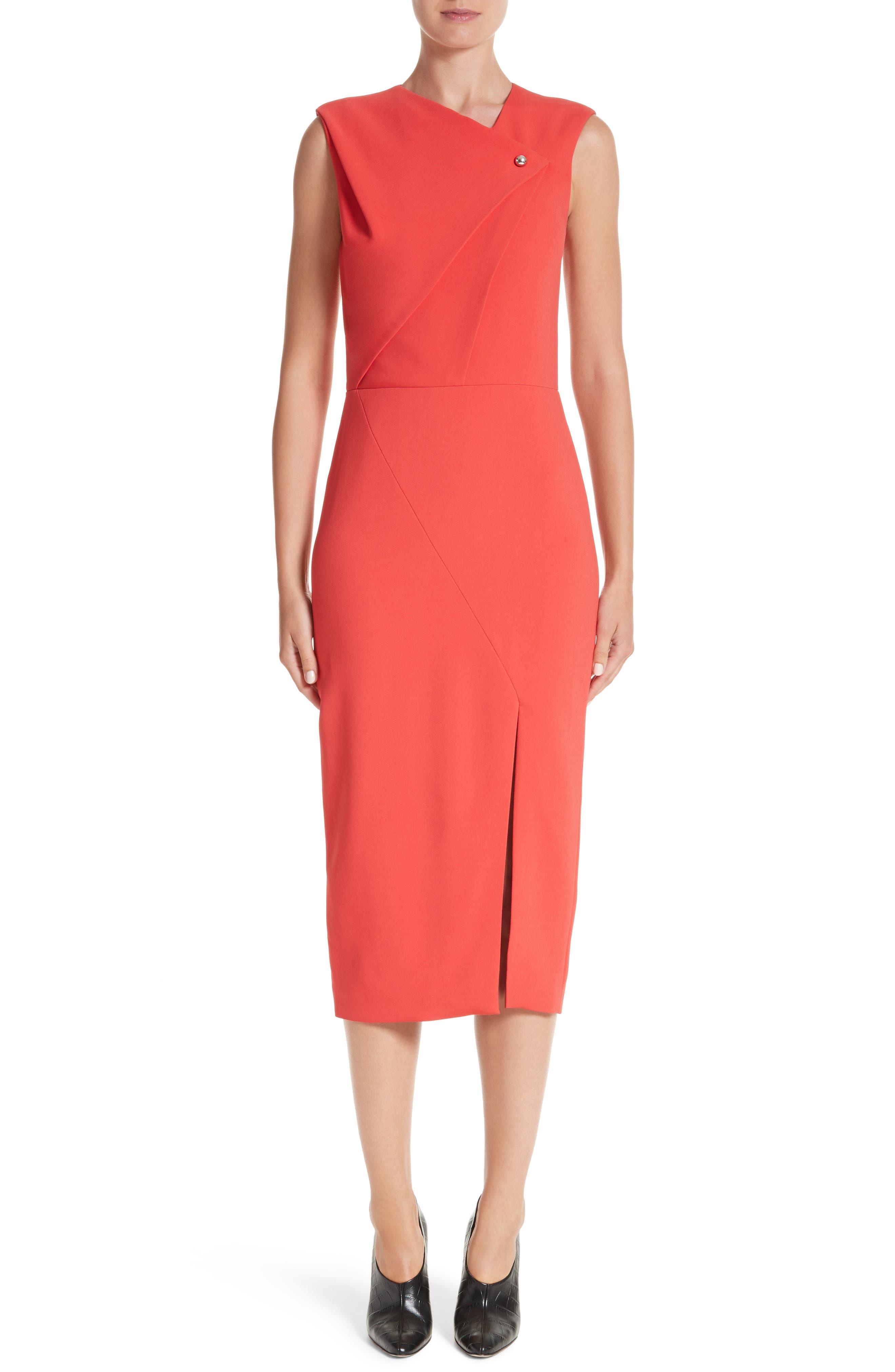 Day Dress,                             Main thumbnail 1, color,                             Watermelon