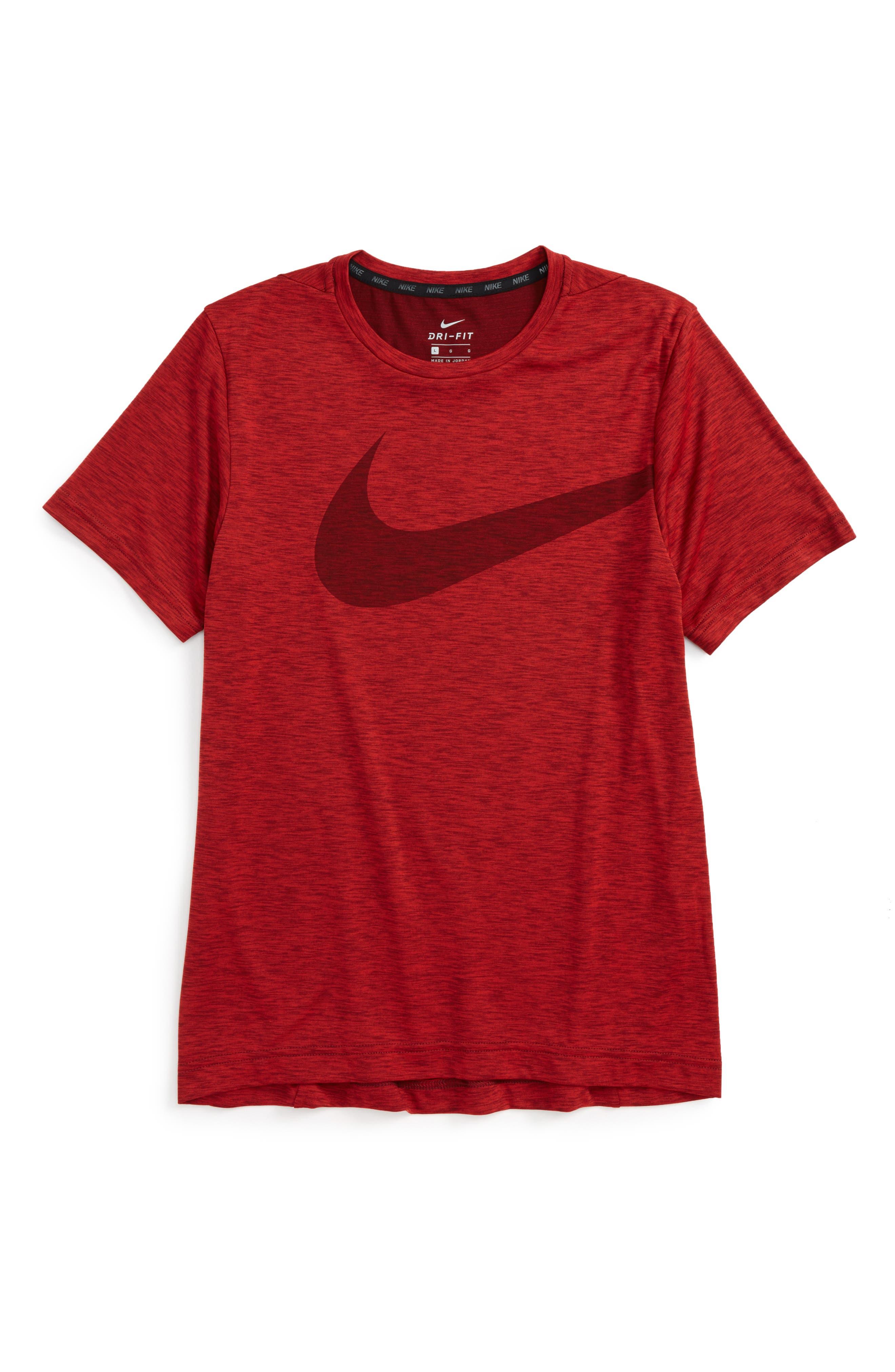 Breathe Dri-FIT T-Shirt,                         Main,                         color, Unvred/ Dktmrd