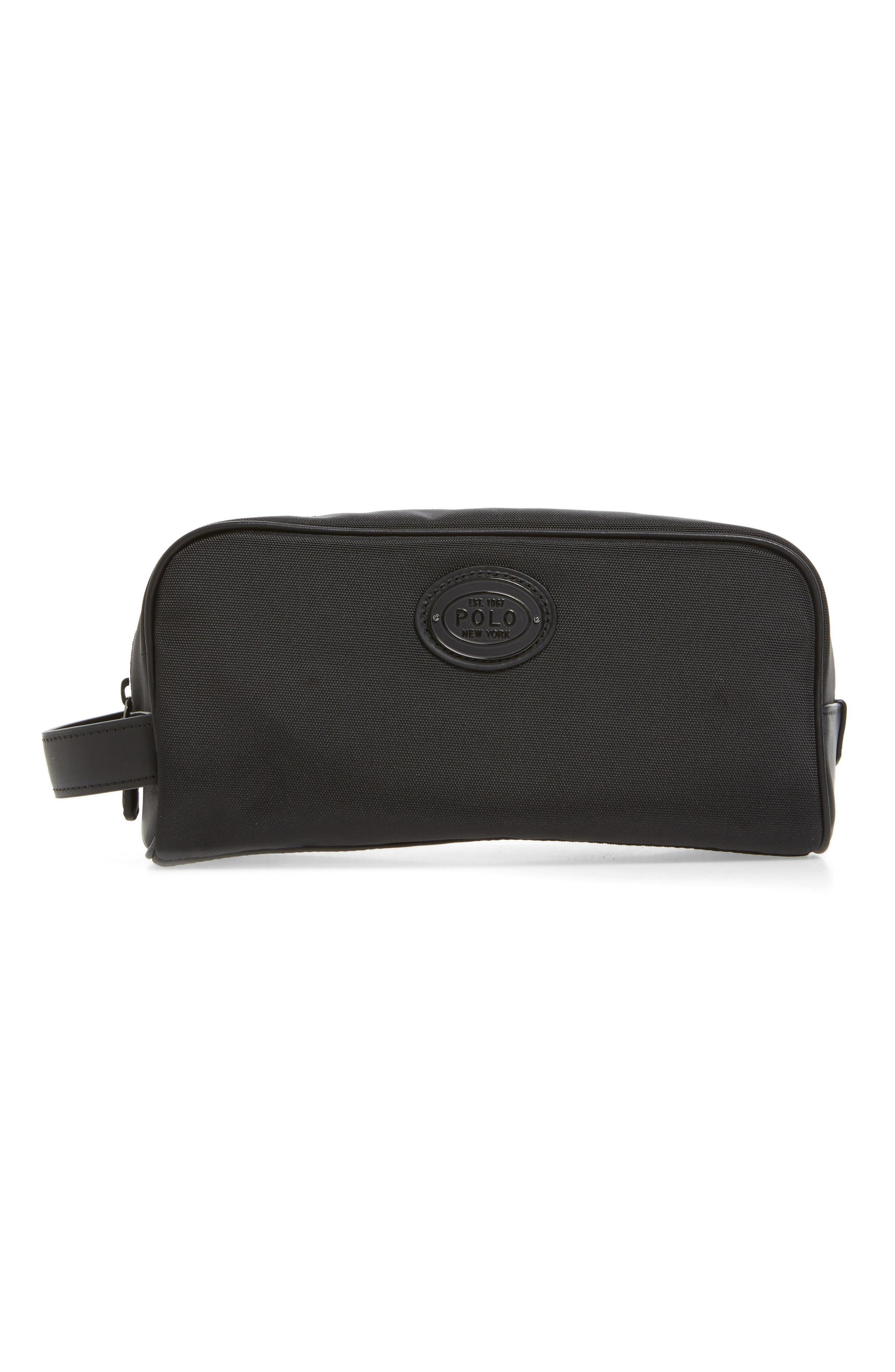 Thompson Travel Kit,                         Main,                         color, Black