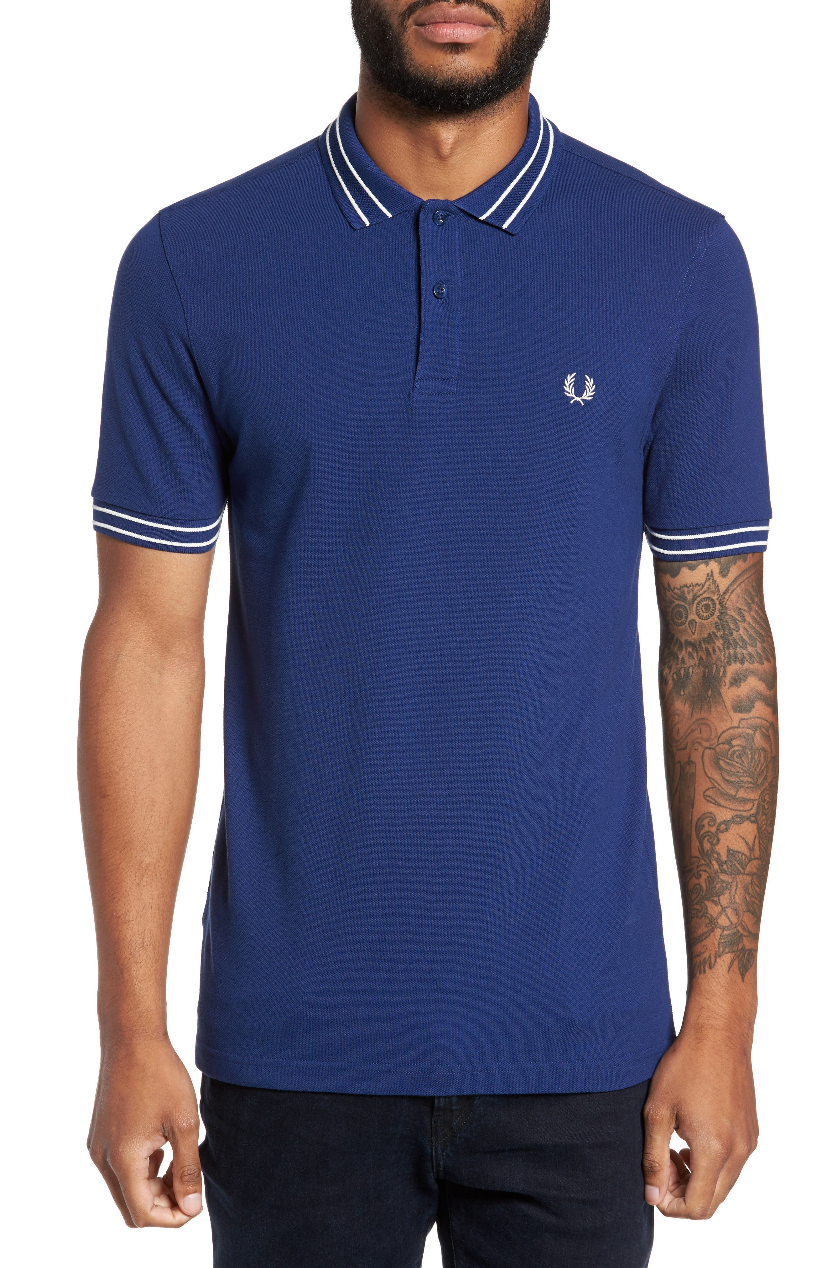 Fred Perry Tramline Tipped Polo