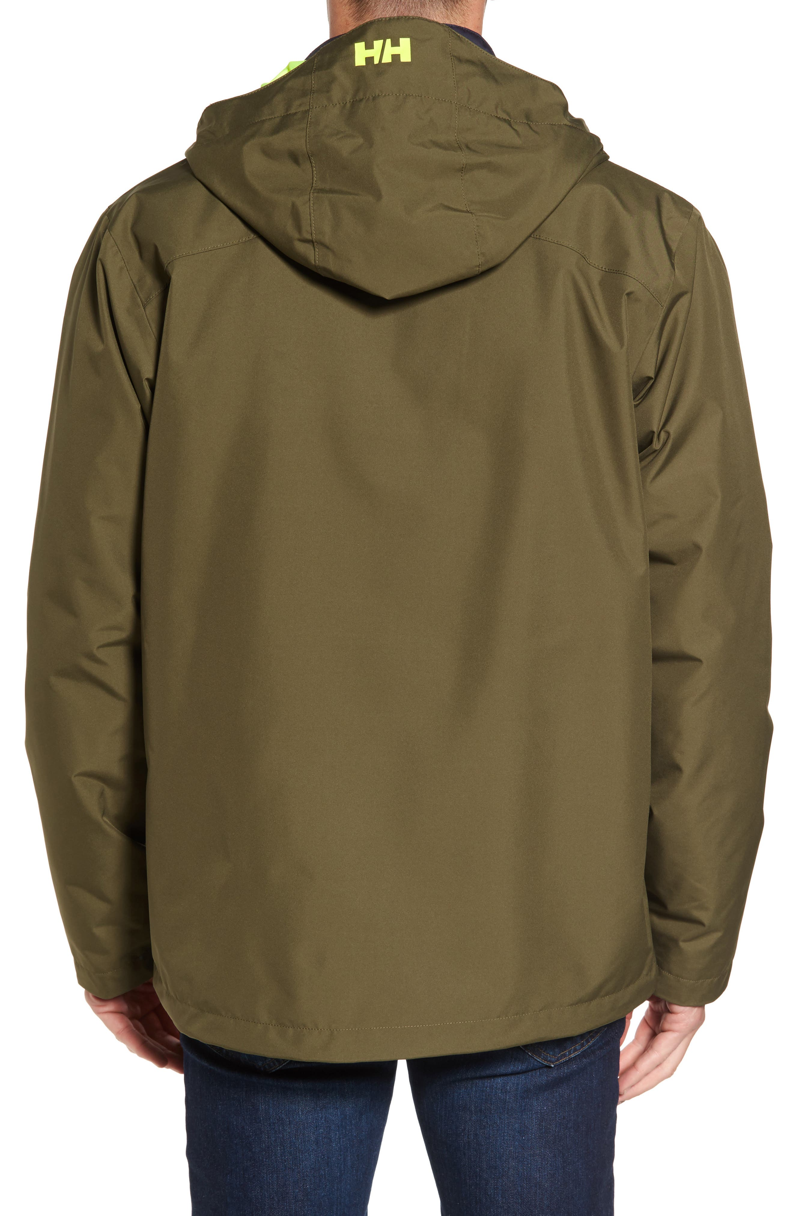 Alternate Image 2  - Helly Hansen Squamish 3-in-1 Water Repellent Hooded Jacket