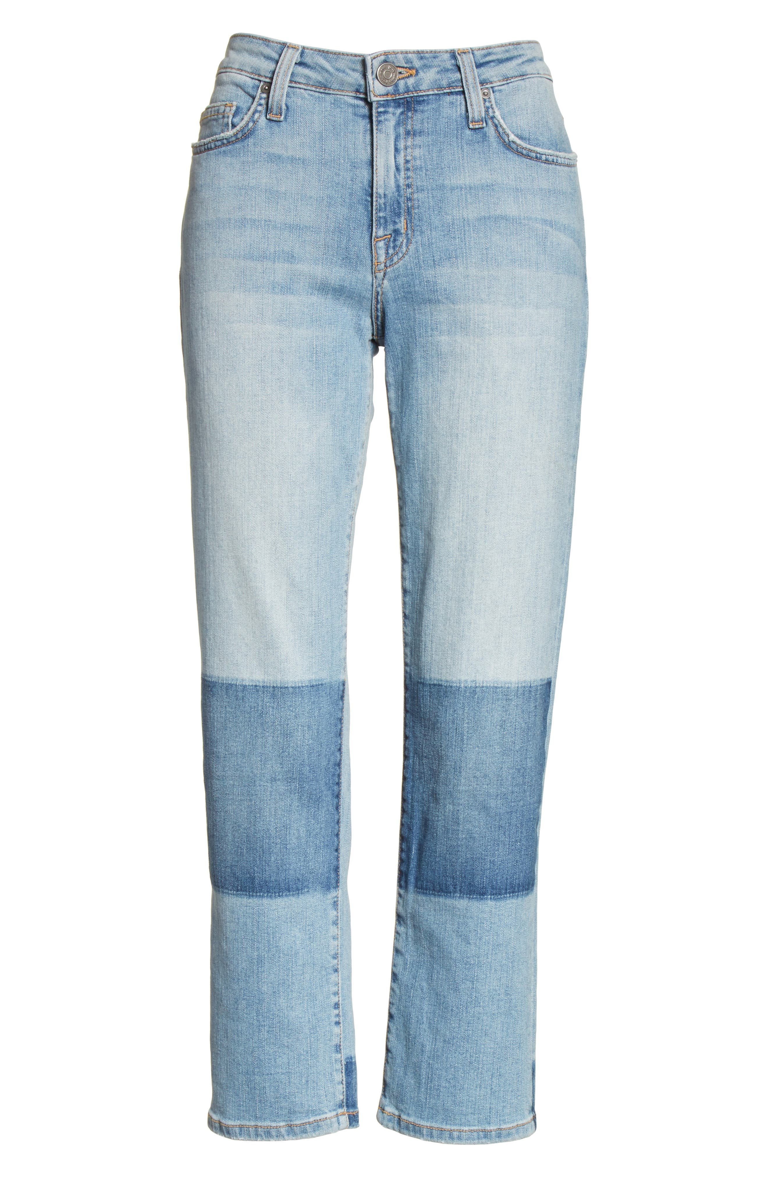 Alternate Image 6  - Joie Josalind Straight Leg Crop Jeans