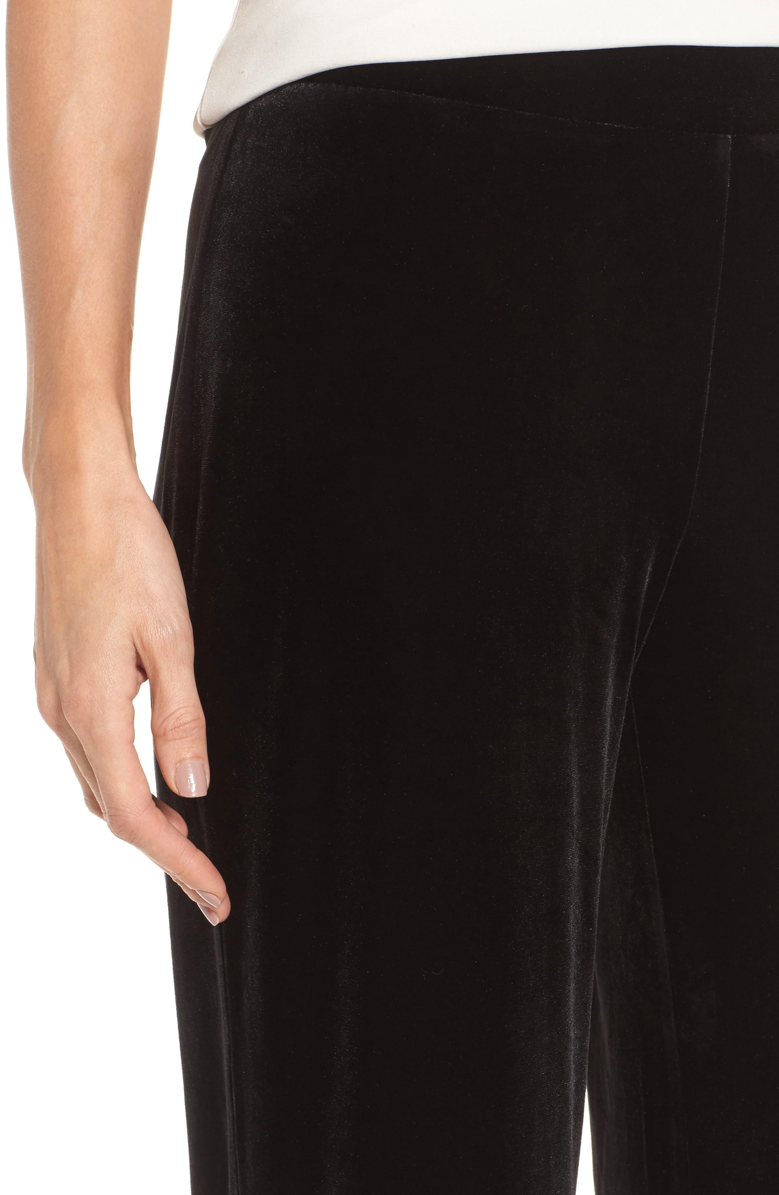 Alternate Image 4  - Chaus Velvet Pants