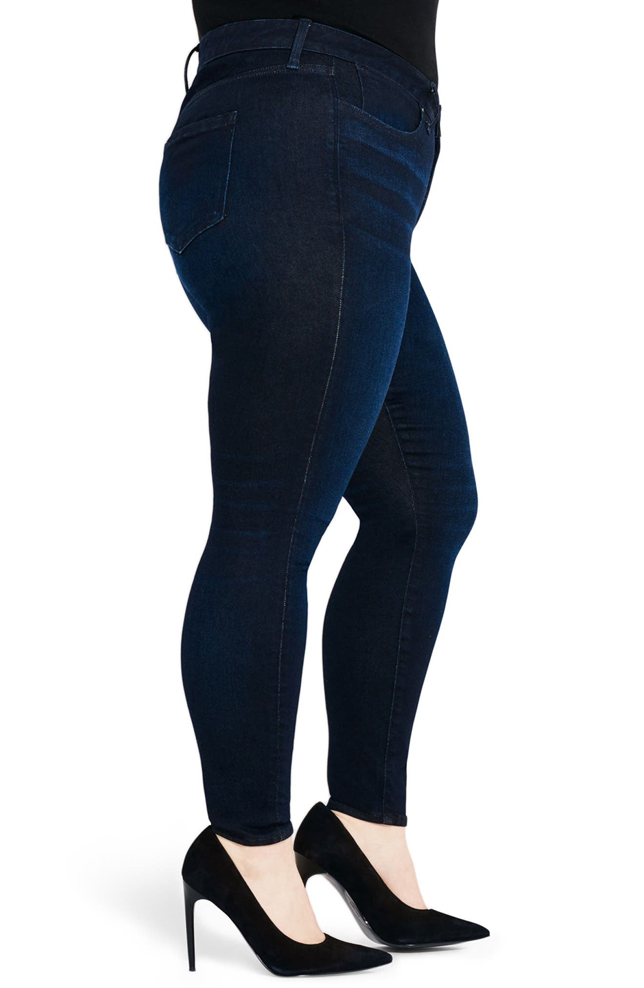 Alternate Image 3  - AYR The One Love High Waist Skinny Jeans (Jac's Jean) (Plus Size)