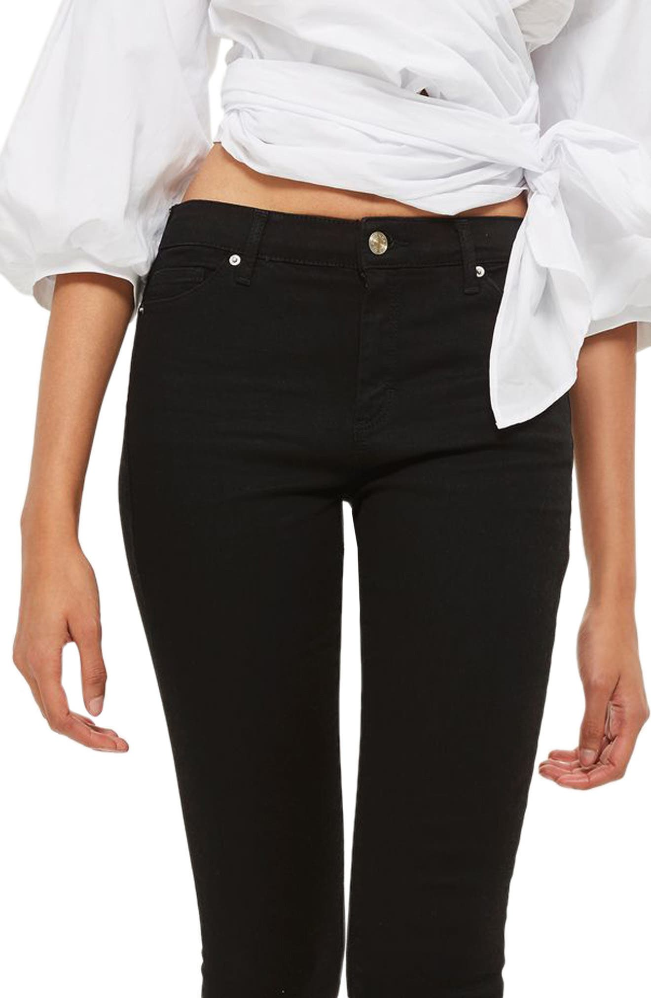Alternate Image 3  - Topshop Sidney Skinny Jeans