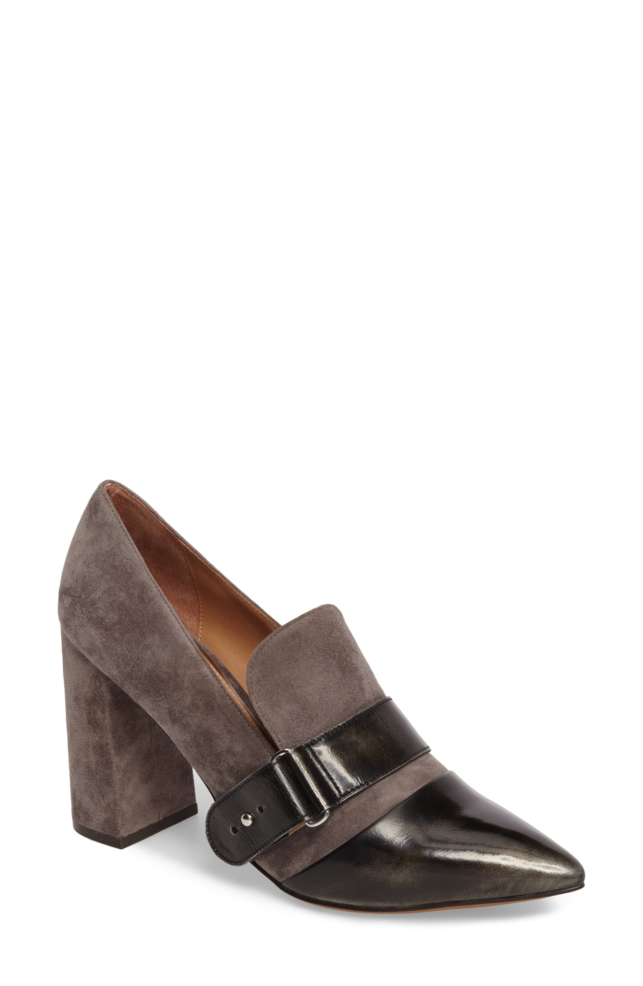 Alternate Image 1 Selected - Linea Paolo Casidy Buckle Pump (Women)