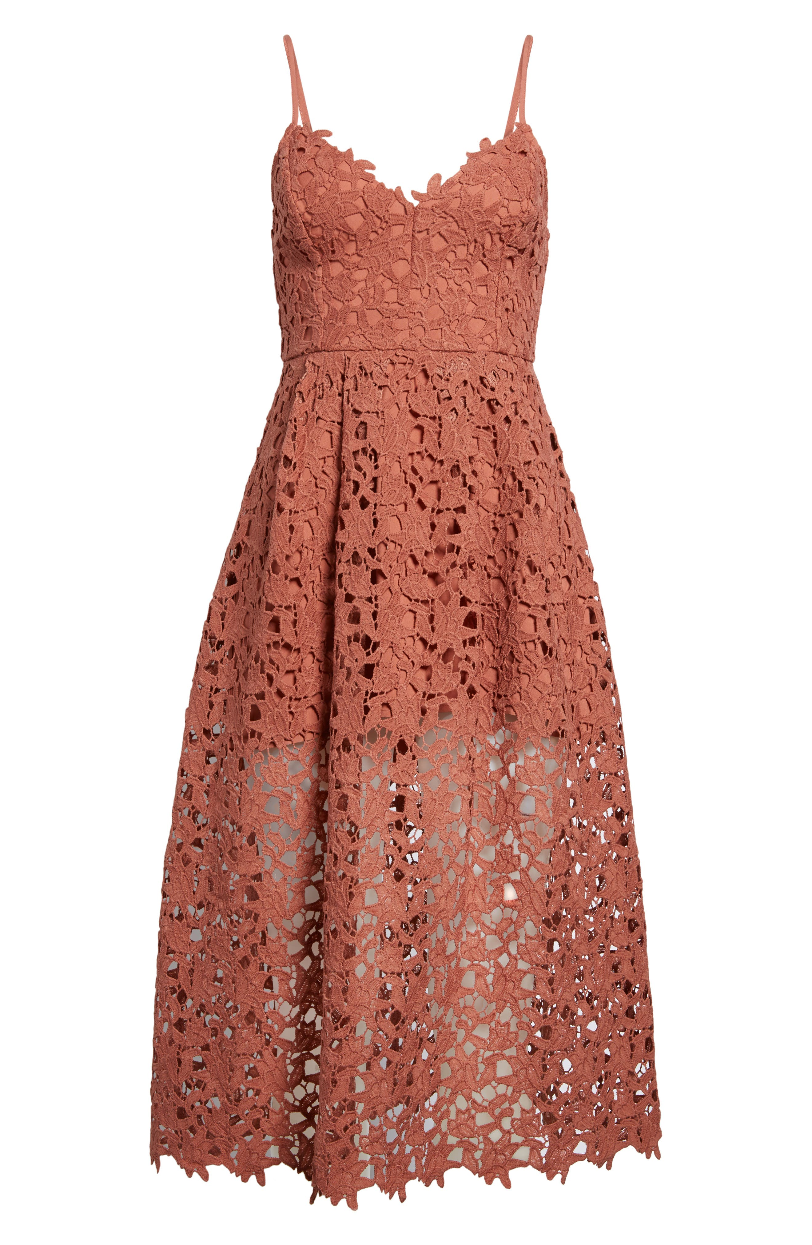 Alternate Image 6  - ASTR the Label Lace Midi Dress